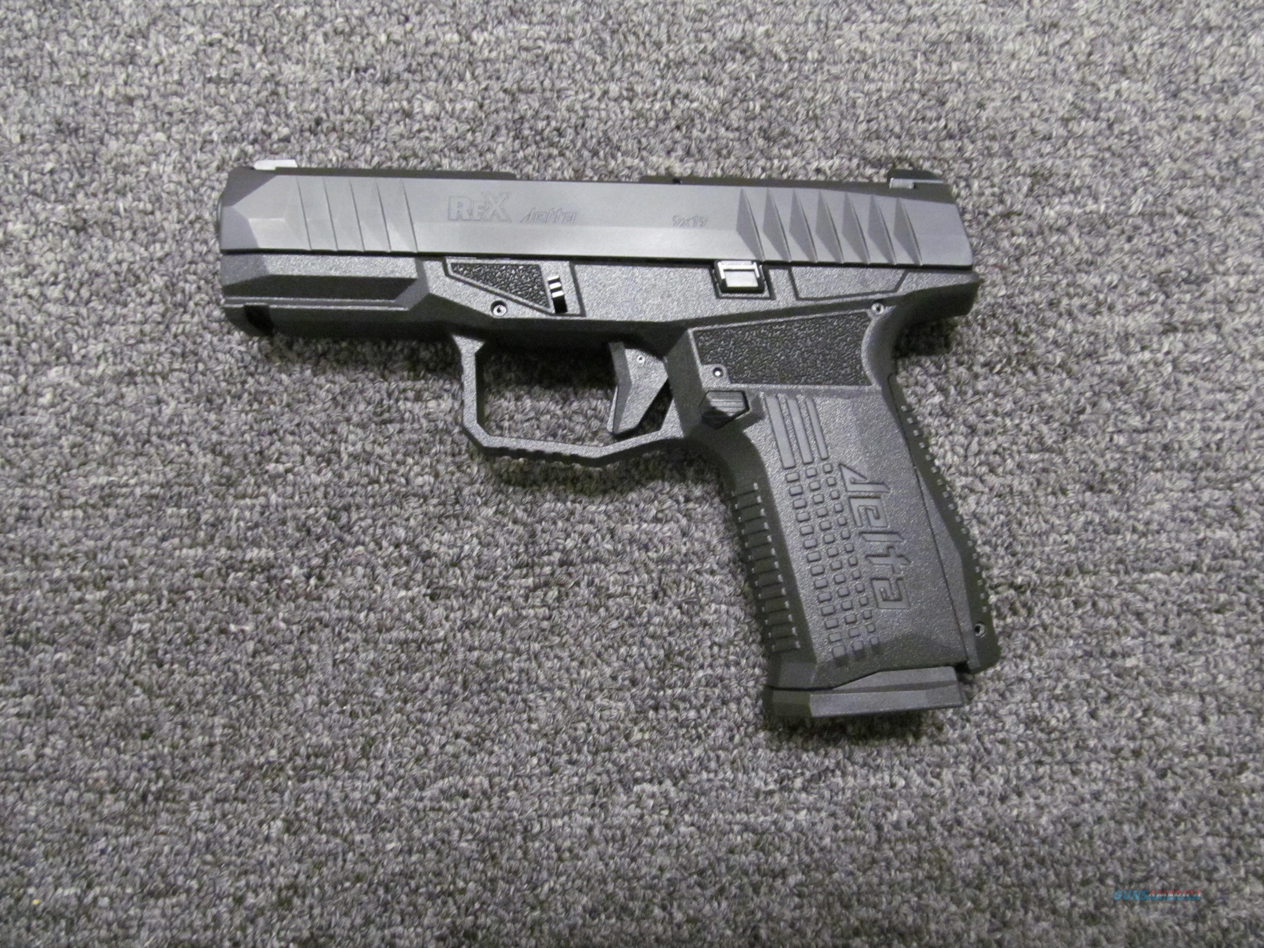 Arex/FIME Group Rex Delta 9mm   Guns > Pistols > FIME Group Pistols > Rex Zero 1