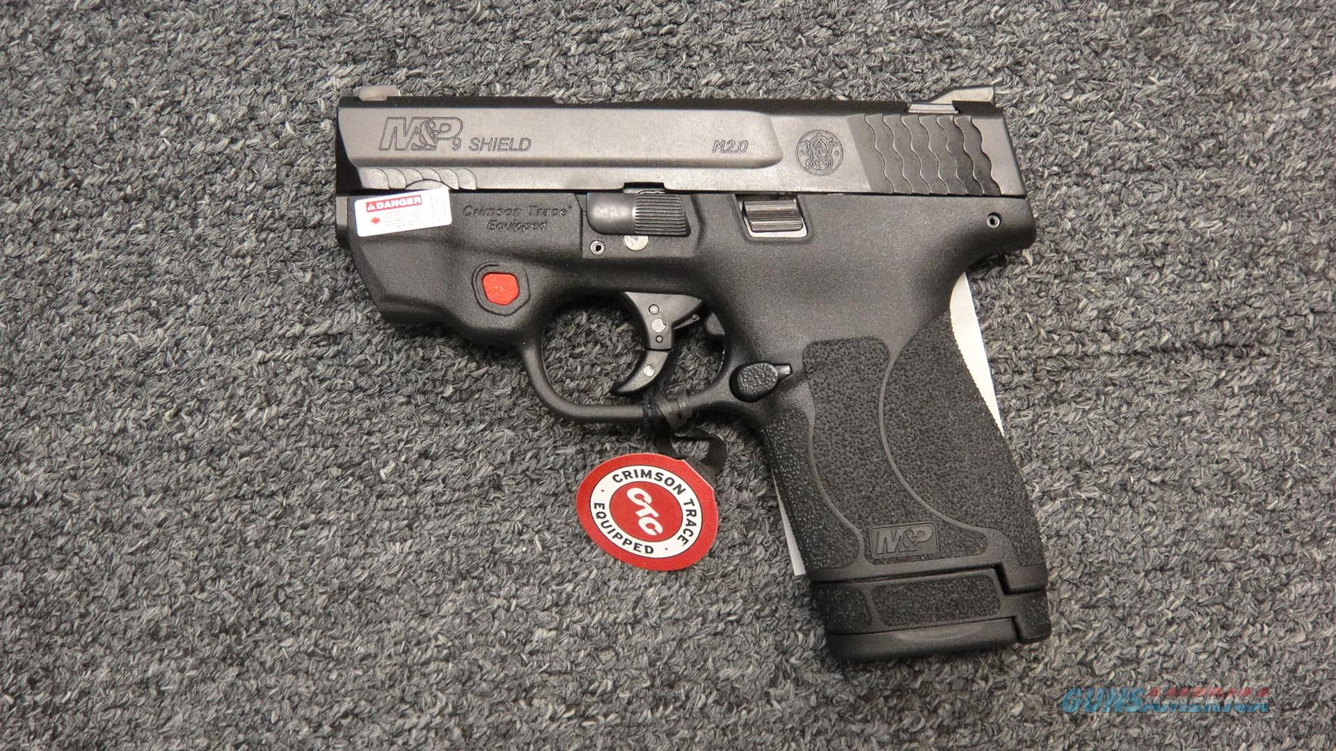Smith & Wesson M&P9 Shield 2.0 w/ CTC Laser  Guns > Pistols > Smith & Wesson Pistols - Autos > Shield
