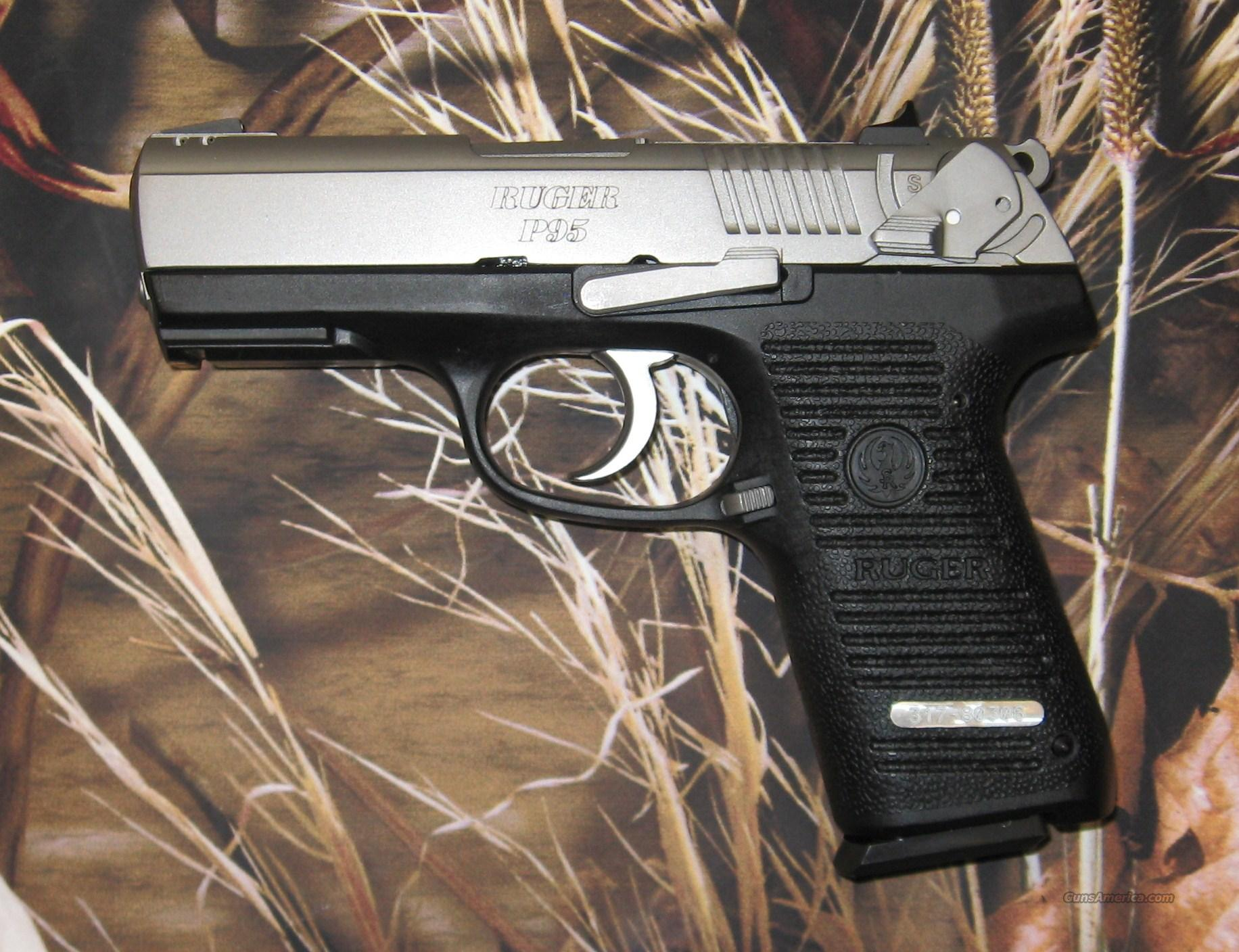 Ruger P95 Stainless 9mm  Guns > Pistols > Ruger Semi-Auto Pistols > P-Series