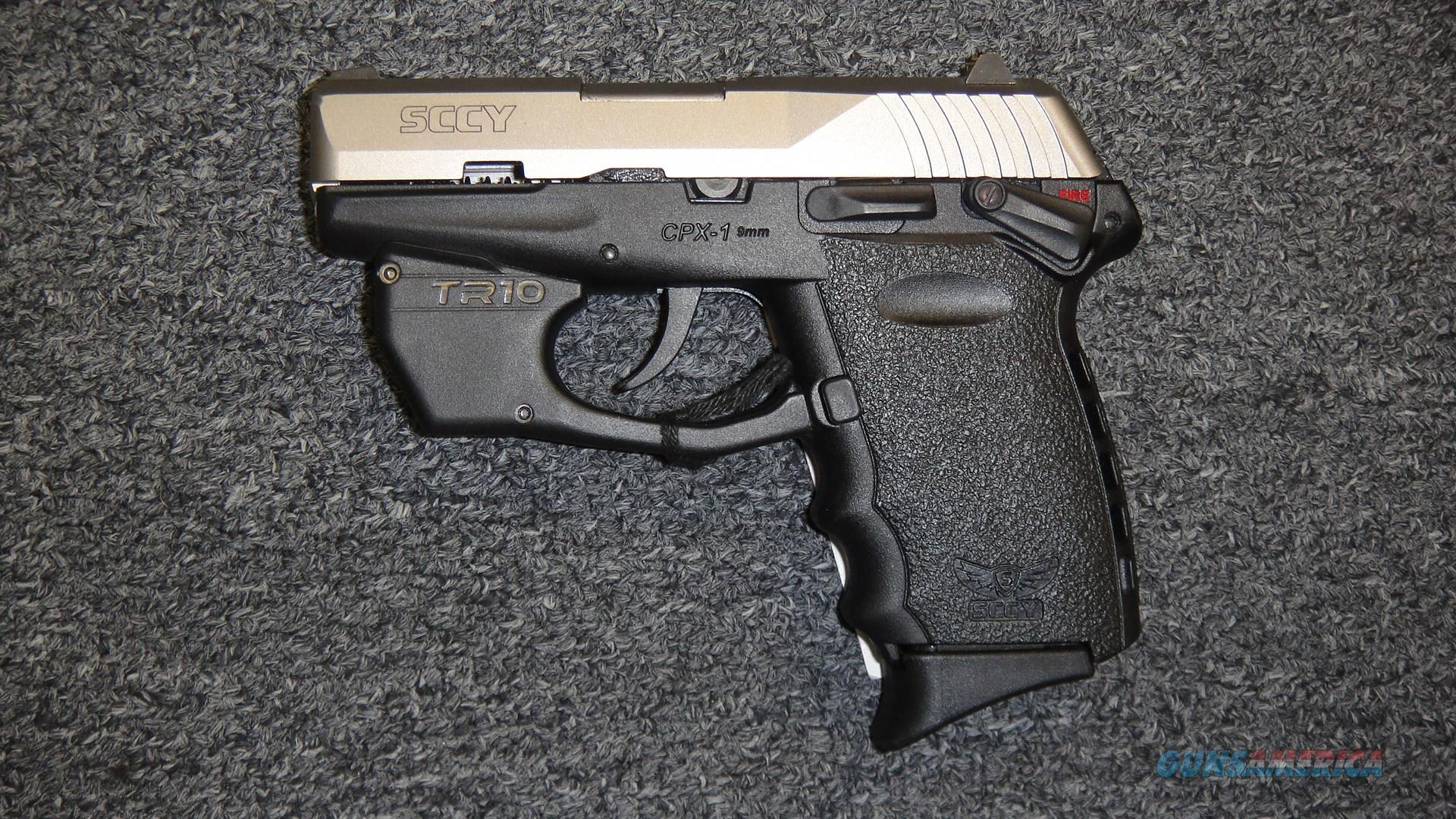 SCCY CPX1 Stainless w/ red laser  Guns > Pistols > SCCY Pistols > CPX1