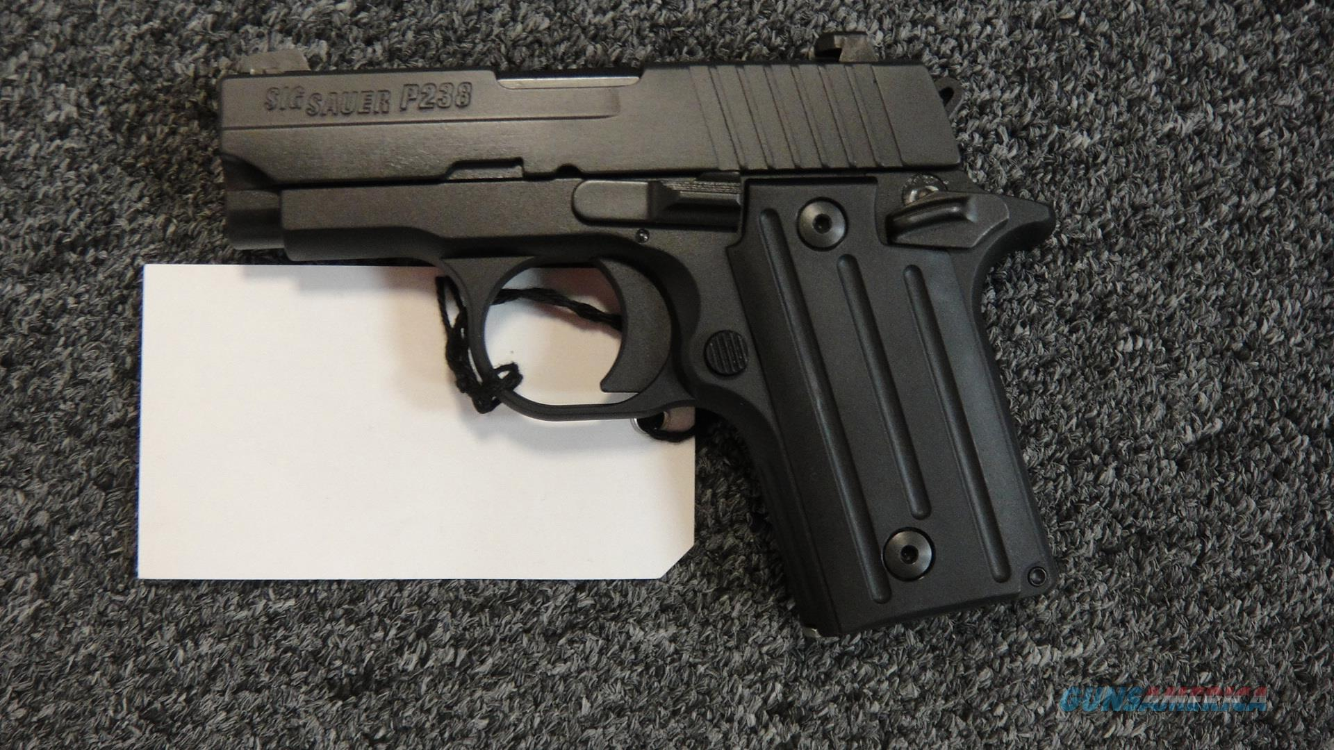 Sig Sauer P238 Black  Guns > Pistols > Sig - Sauer/Sigarms Pistols > P238