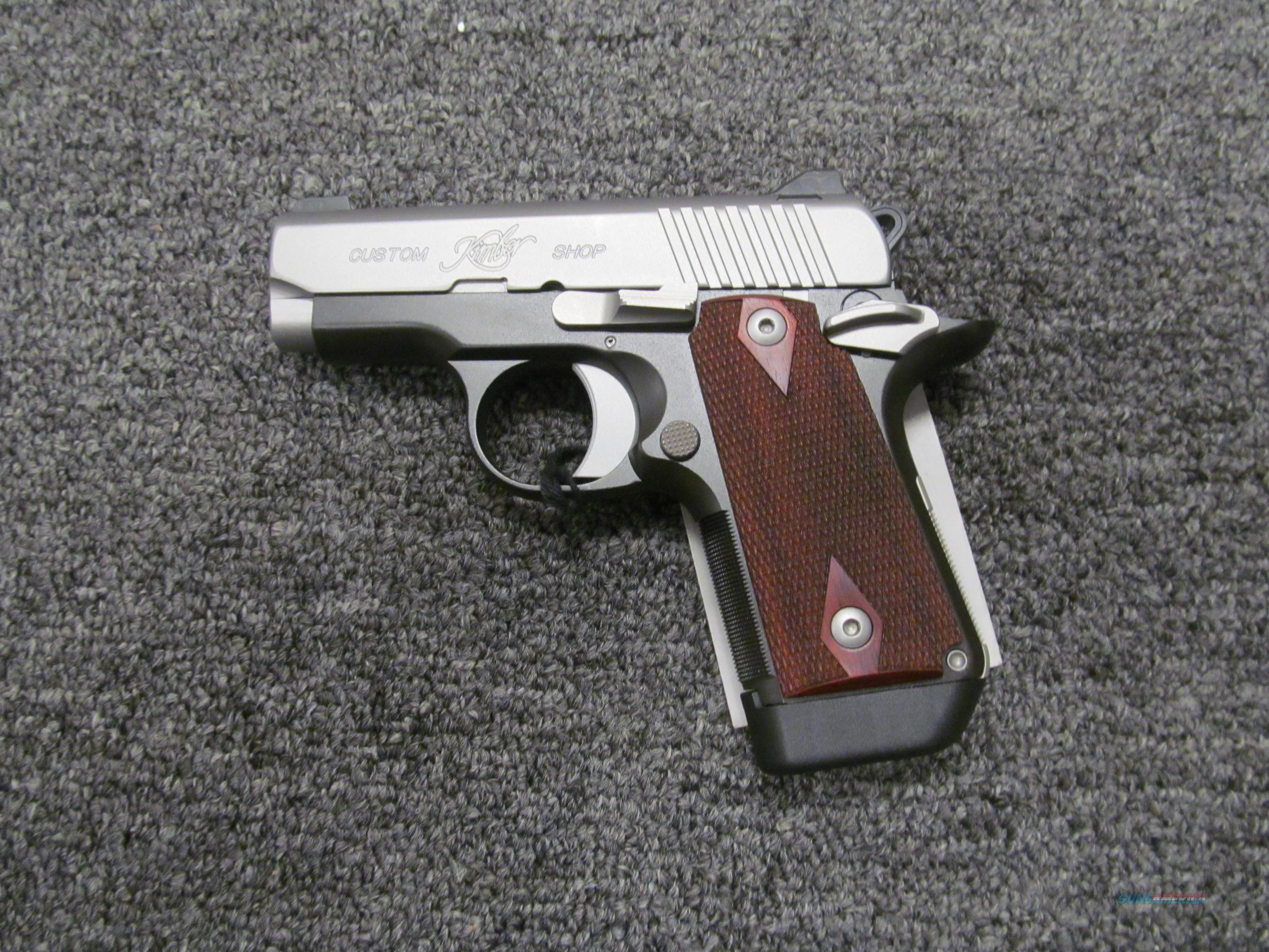 Kimber Micro CDP  Guns > Pistols > Kimber of America Pistols > Micro