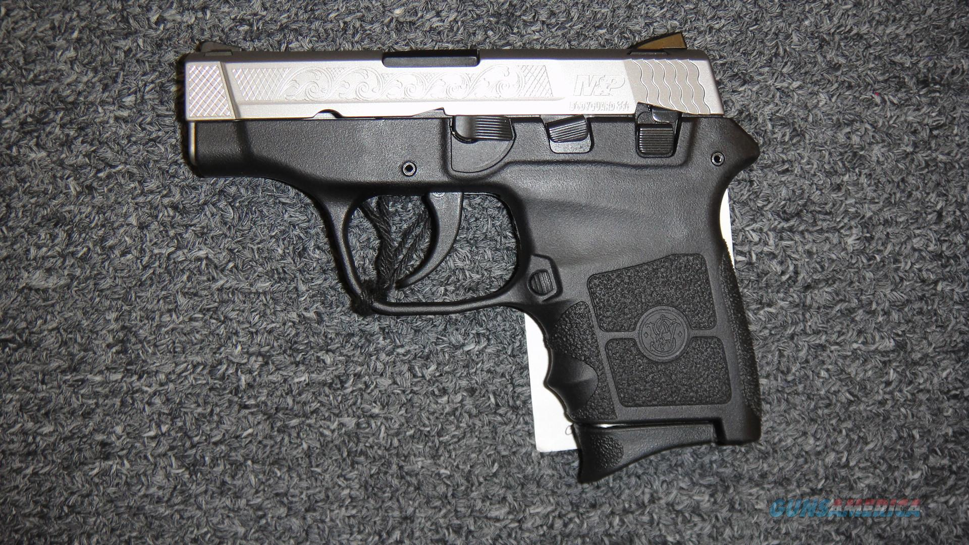 Smith & Wesson M&P Bodyguard 380 Stainless Engraved Slide  Guns > Pistols > Smith & Wesson Pistols - Autos > Polymer Frame