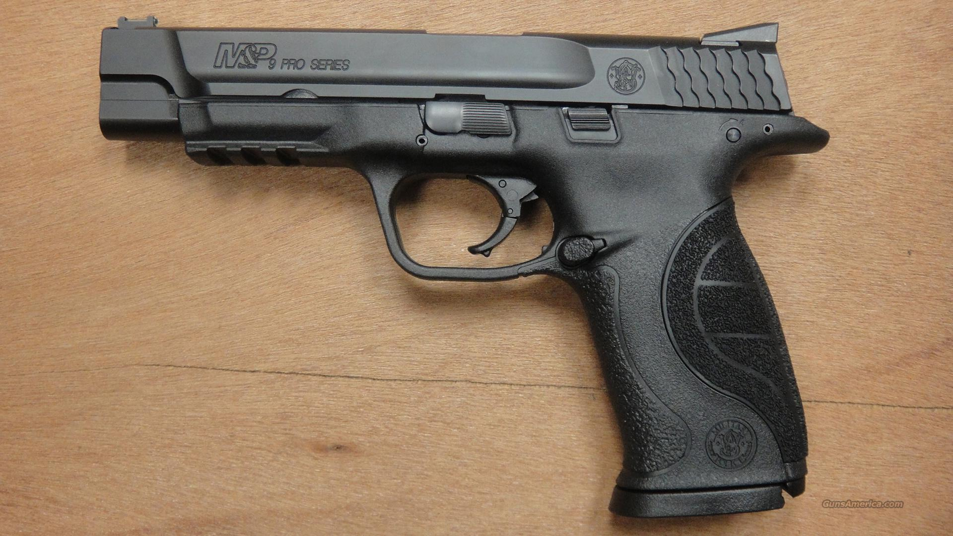 Smith & Wesson M&P9 Pro  Guns > Pistols > Smith & Wesson Pistols - Autos > Polymer Frame