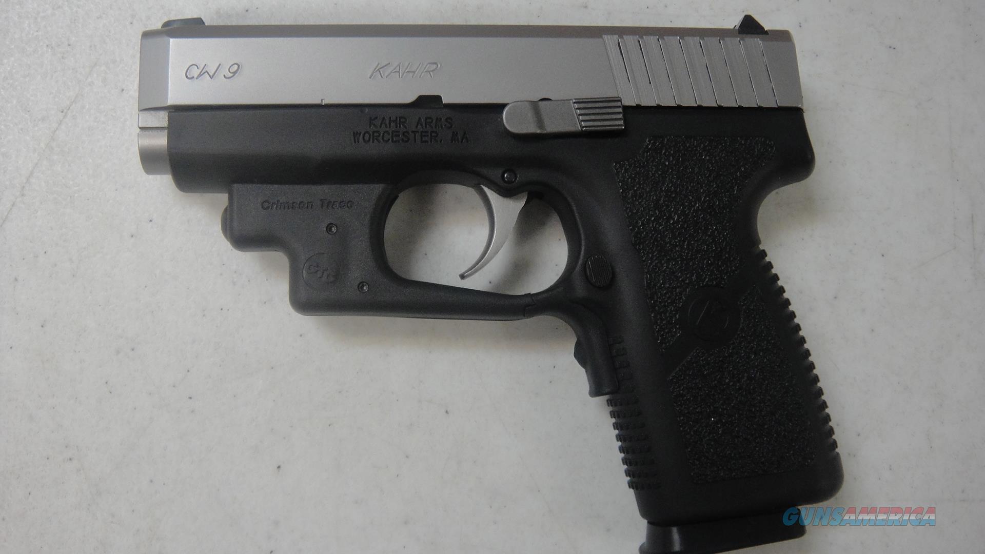 Kahr CW9 w/CTC laser  Guns > Pistols > Kahr Pistols