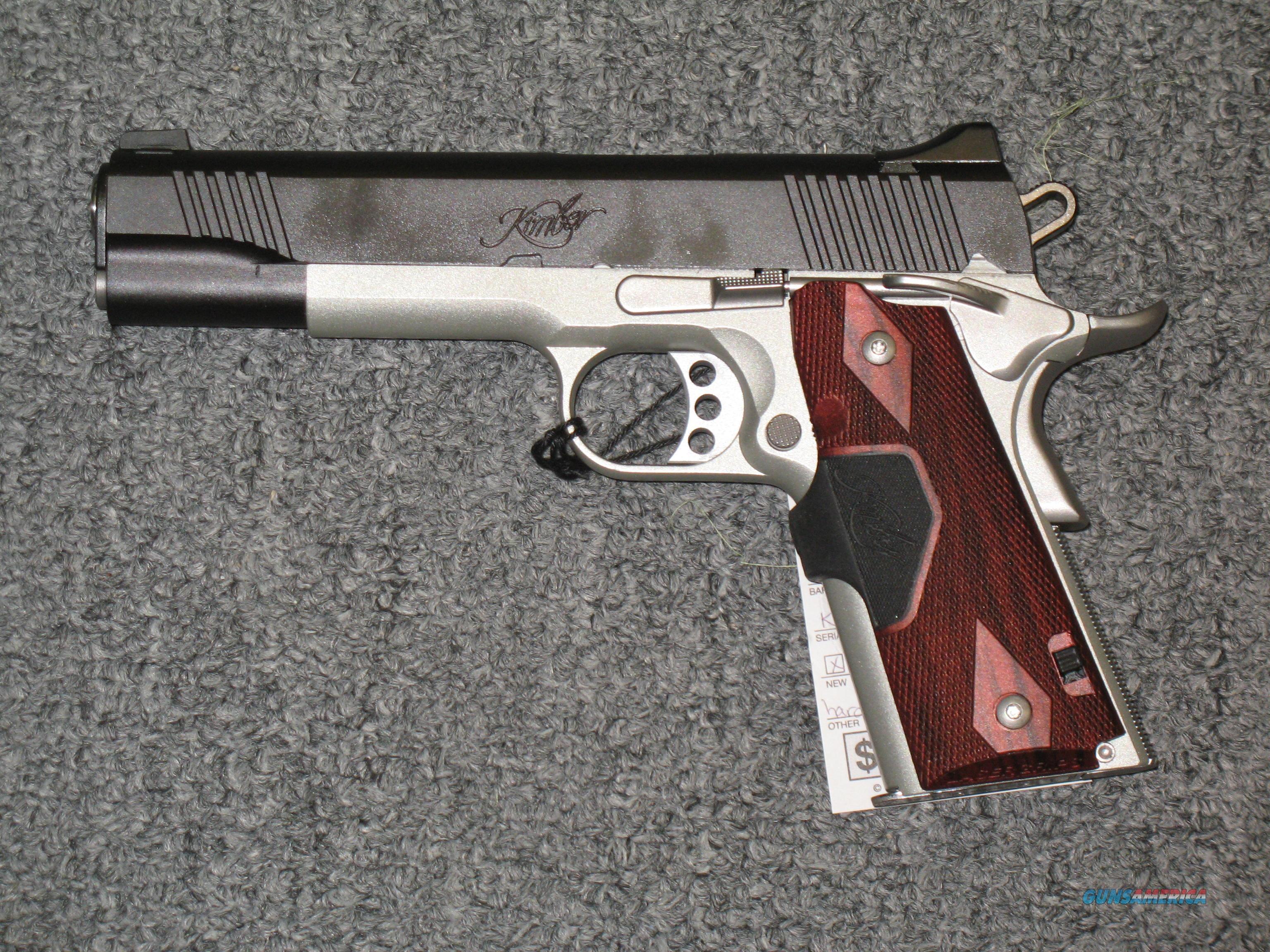 Kimber Custom Crimson Carry II With Green Laser  Guns > Pistols > Kimber of America Pistols