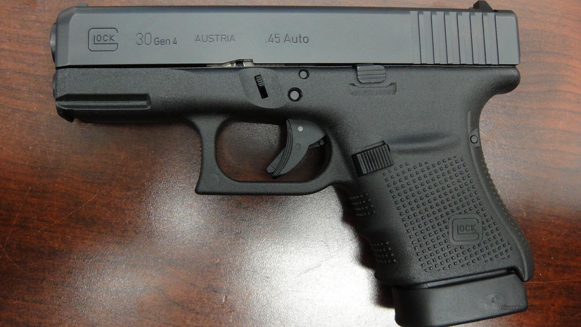 Glock 30s Gen 4 Glock 30 Gen 4 for sal...