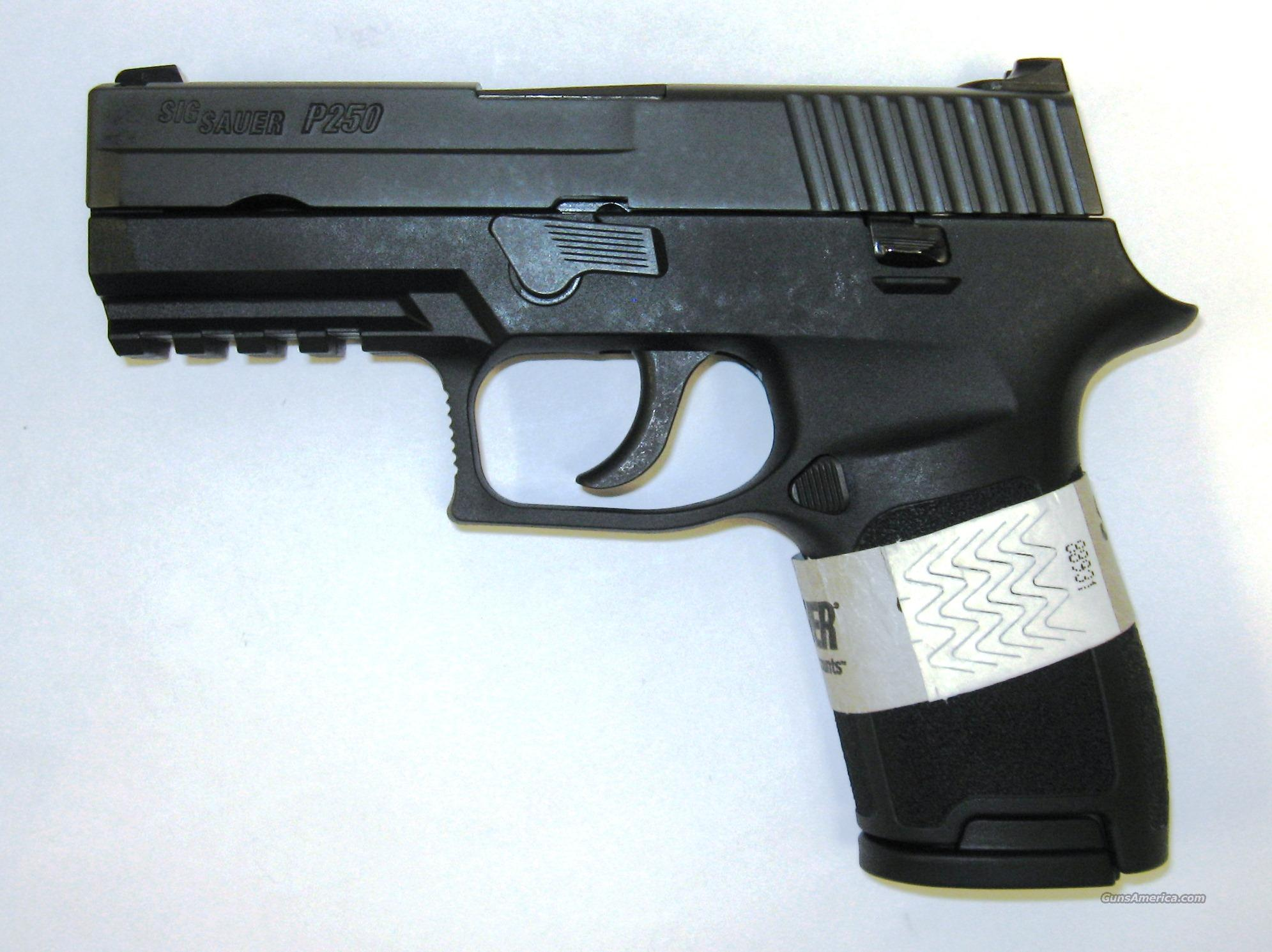 SIg Sauer P250 Compact 9MM  Guns > Pistols > Sig - Sauer/Sigarms Pistols > P250