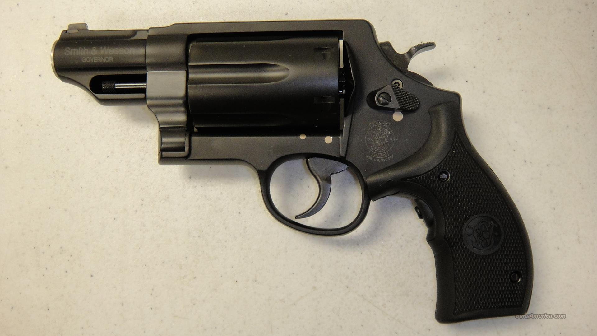 Smith & Wesson Governor With Crimson Trace Laser  Guns > Pistols > Smith & Wesson Revolvers > Full Frame Revolver