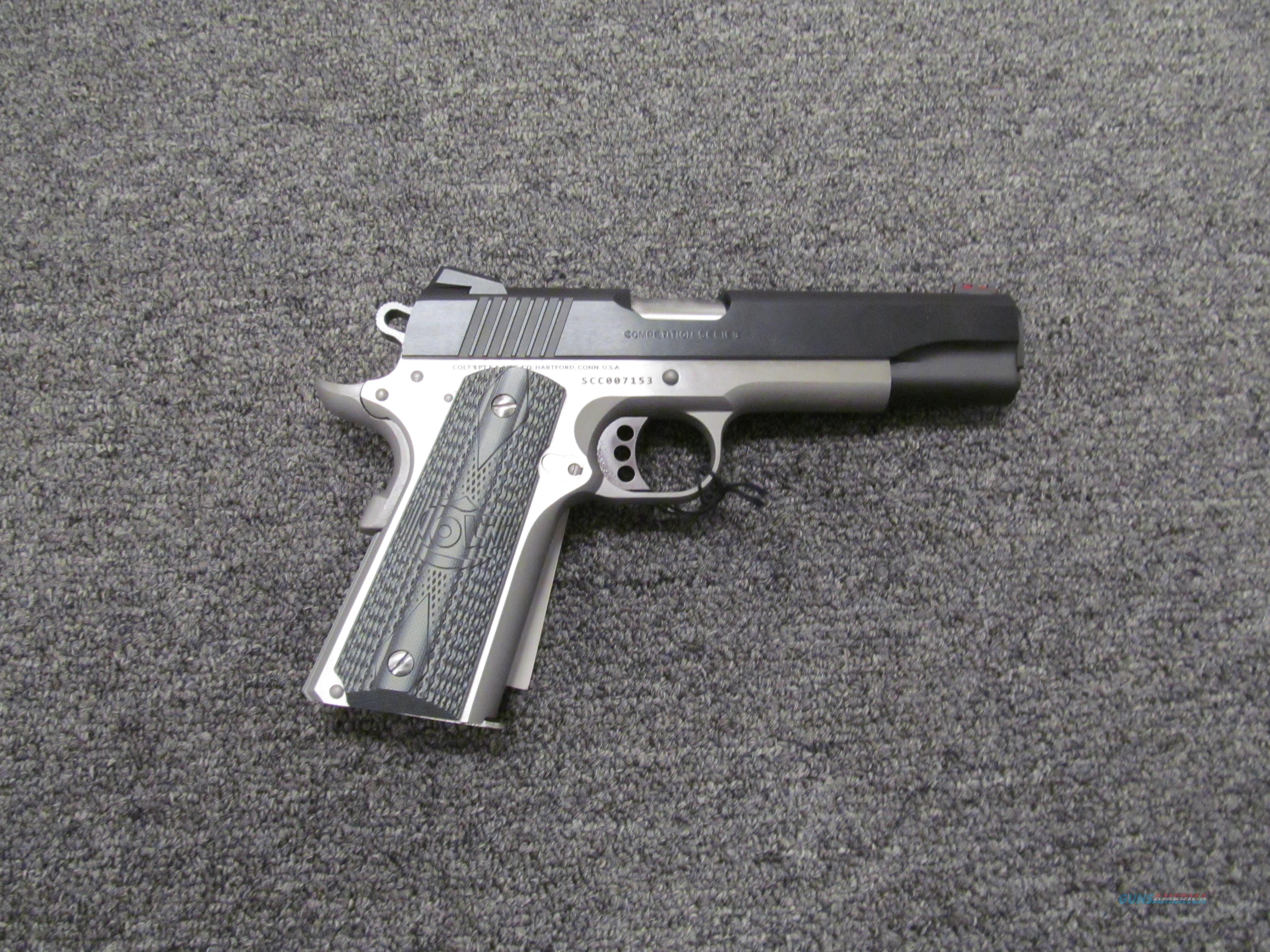 Colt Government Competition Series (Series 70)  Guns > Pistols > Colt Automatic Pistols (1911 & Var)
