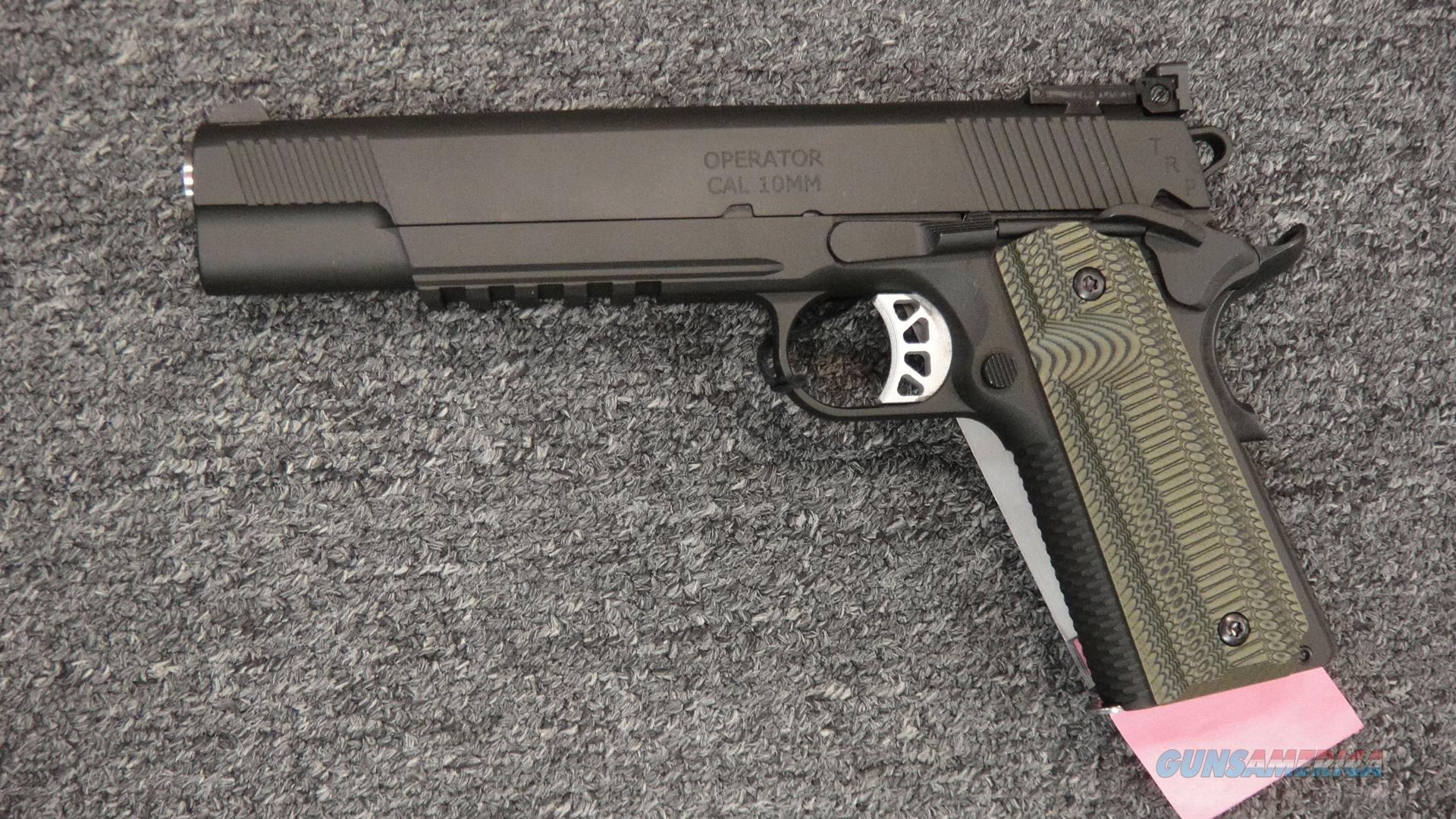 Springfield Armory TRP Heavy Operator 10mm  Guns > Pistols > Springfield Armory Pistols > 1911 Type
