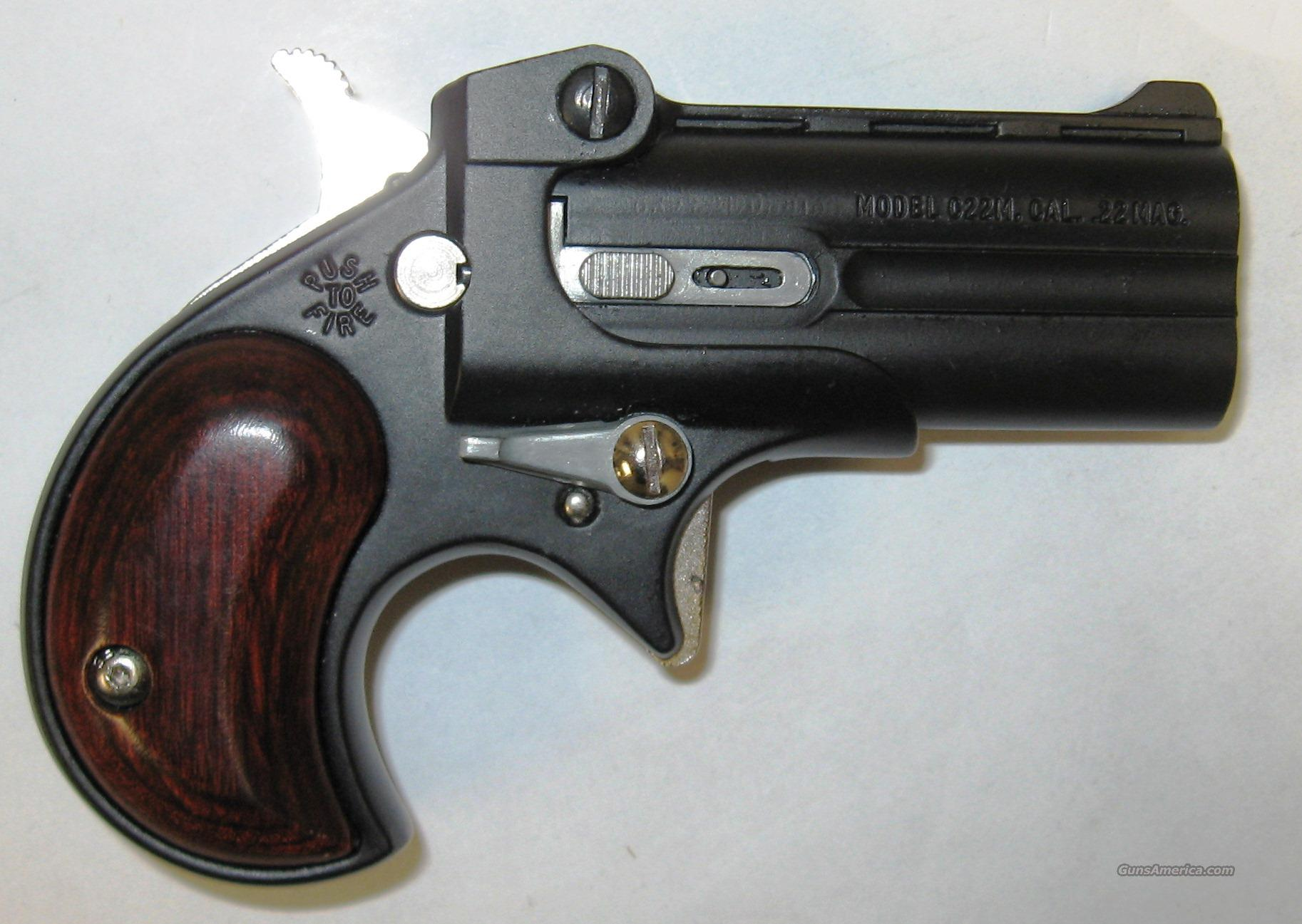 Cobra C22M Derringer Black  Guns > Pistols > Cobra Derringers