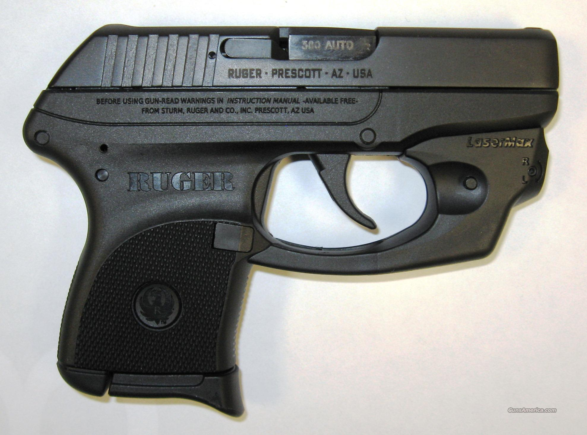 Ruger LCP W/ Lasermax Laser  Guns > Pistols > Ruger Semi-Auto Pistols > LCP