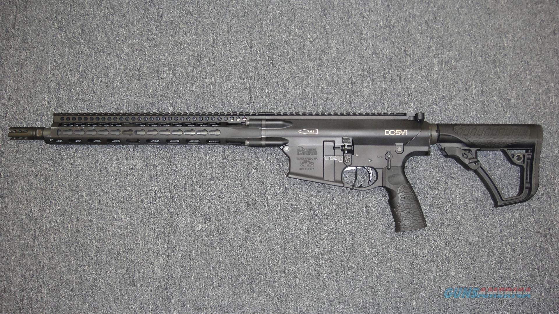 Daniel Defense DD5V1 7.62  Guns > Rifles > Daniel Defense > Complete Rifles
