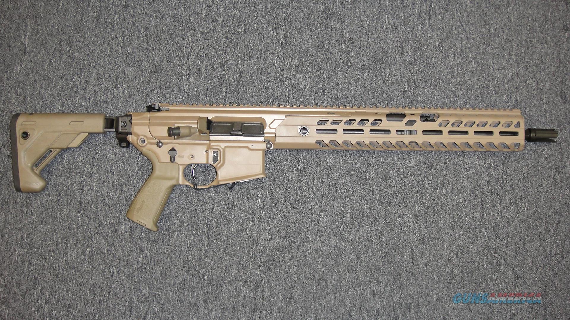 Sig Sauer MCX Virtus 5.56 FDE  Guns > Rifles > Sig - Sauer/Sigarms Rifles