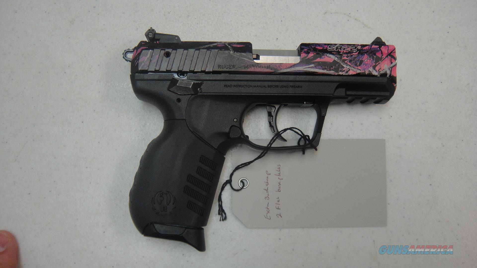 Ruger SR22 w/ Muddy Girl finish  Guns > Pistols > Ruger Semi-Auto Pistols > SR Family > SR22