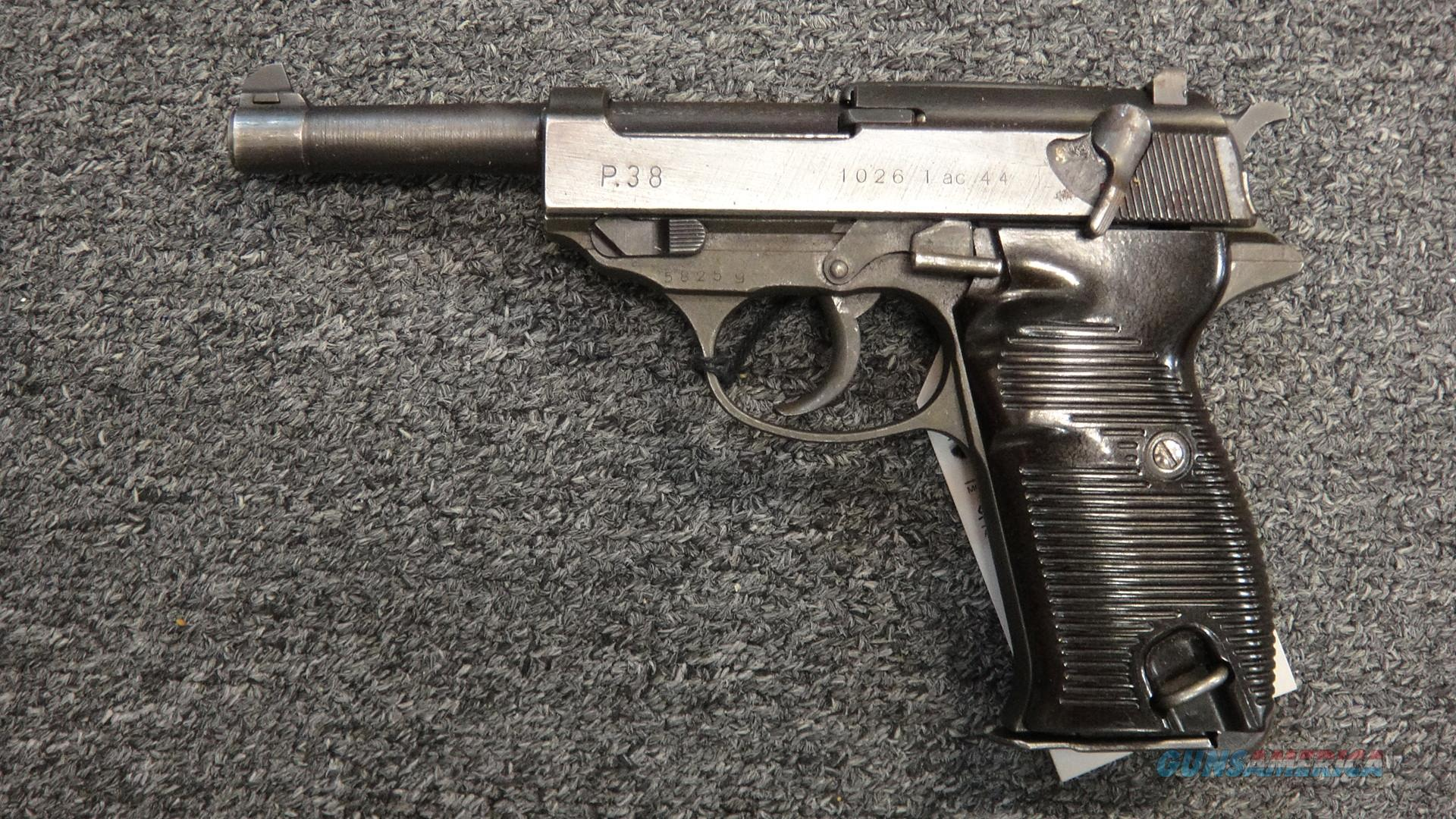 Walther P.38 (wartime)  Guns > Pistols > Walther Pistols > Pre-1945 > P-38
