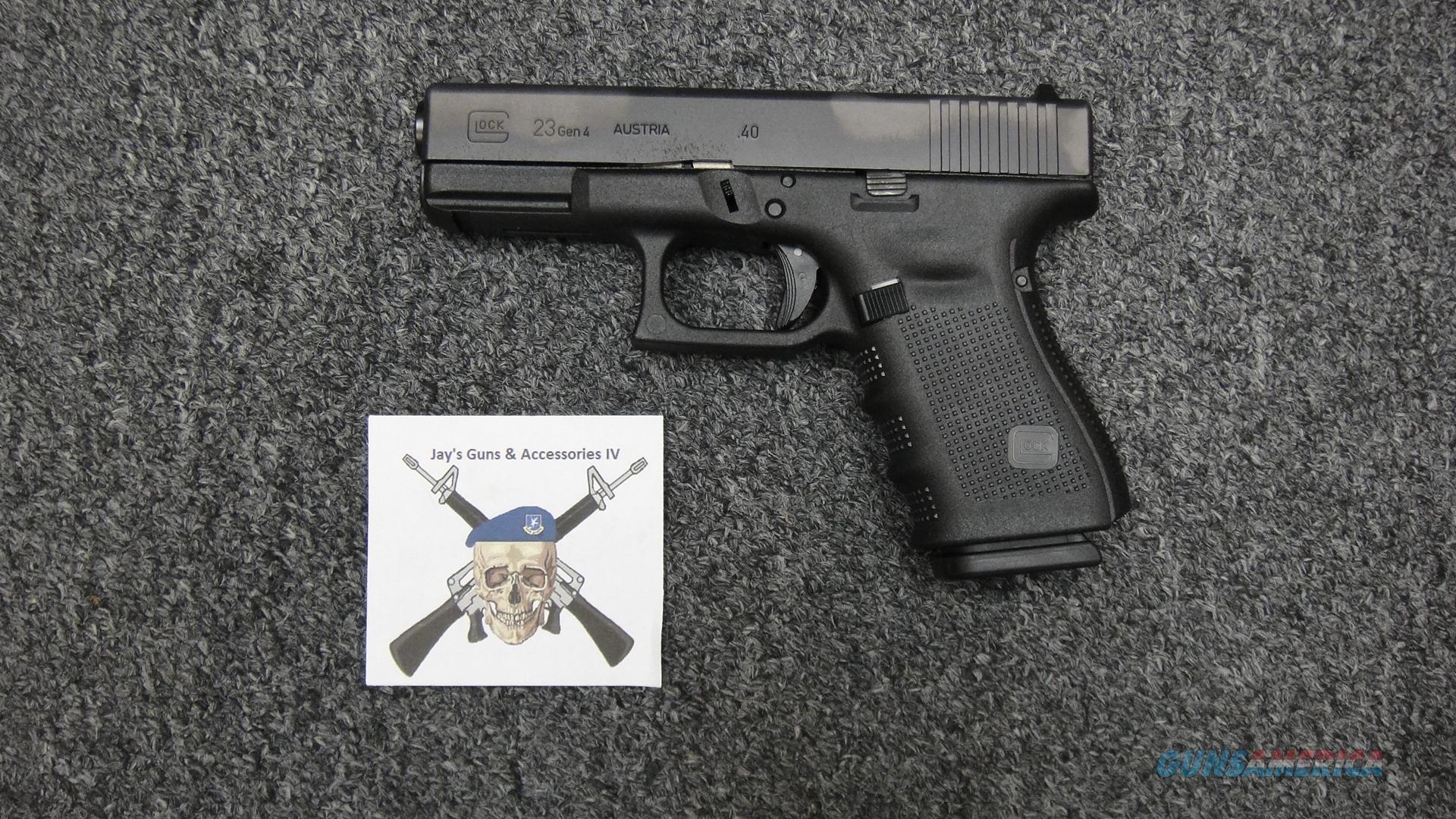 Glock 23 gen 4 .40S&W  Guns > Pistols > Glock Pistols > 23