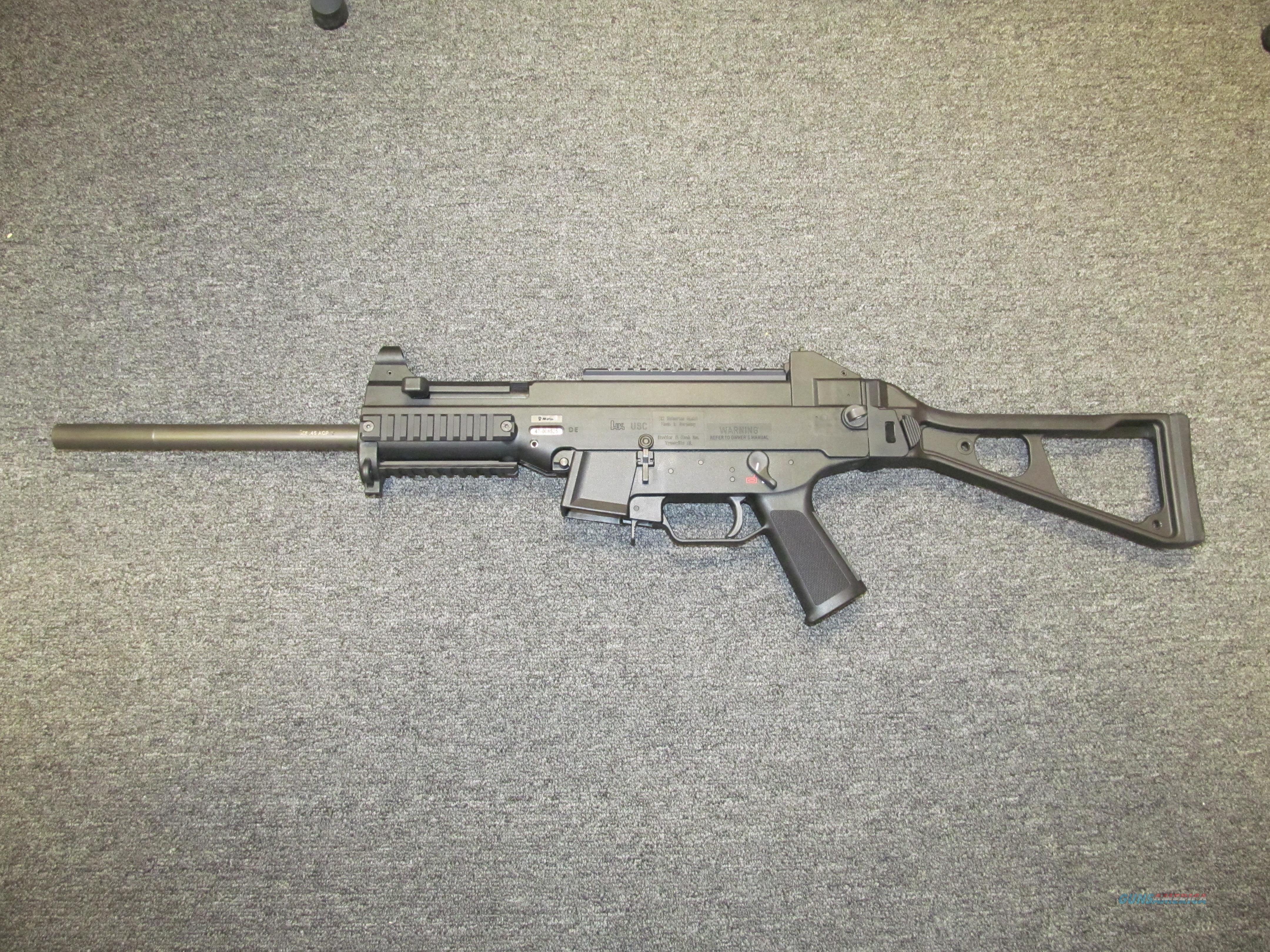Heckler & Koch USC (UMP Clone) .45 ACP  Guns > Rifles > Heckler & Koch Rifles > Tactical