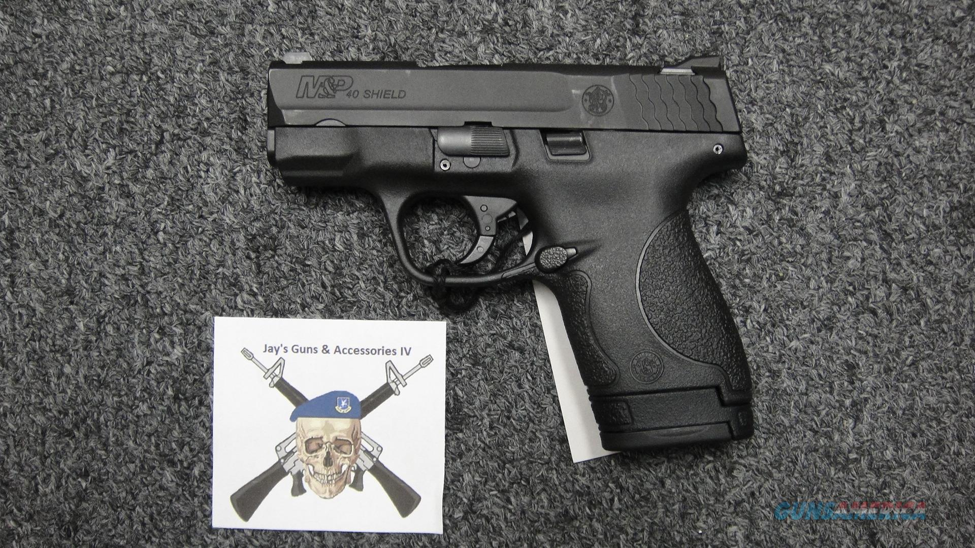 Smith & Wesson M&P 40 Shield No Manual Safety  Guns > Pistols > Smith & Wesson Pistols - Autos > Shield