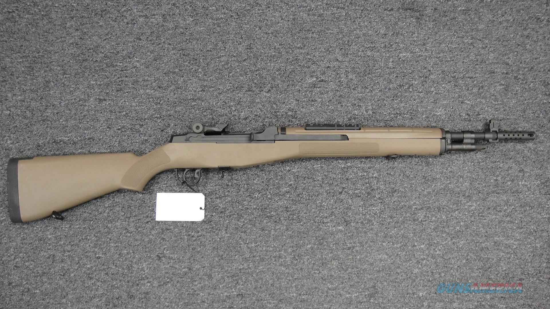 Springfield Armory M1A Scout Squad--FDE (used)  Guns > Rifles > Springfield Armory Rifles > M1A/M14