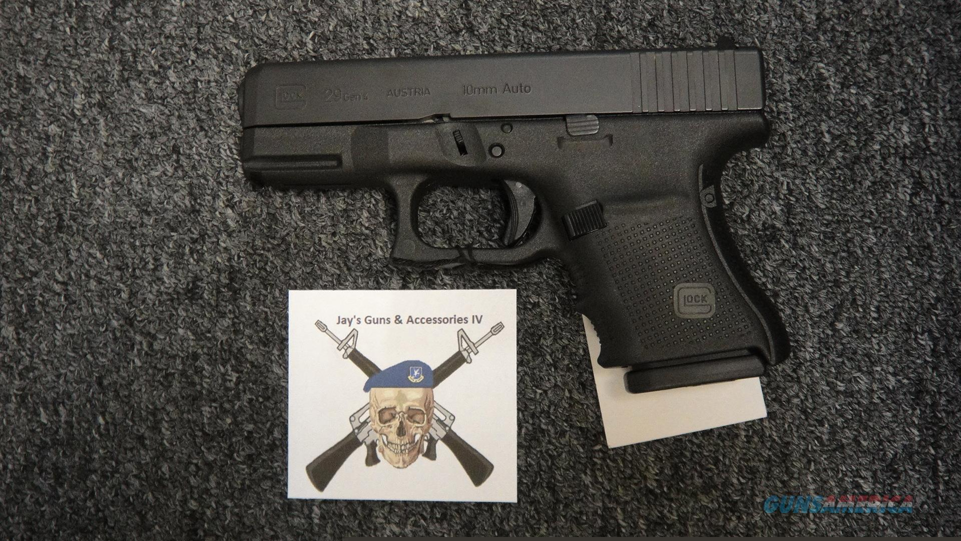 Glock 29 gen 4 (used)  Guns > Pistols > Glock Pistols > 29/30/36