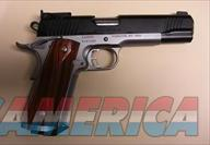 Kimber Super Match II w/funnel magazine well  Guns > Pistols > Kimber of America Pistols