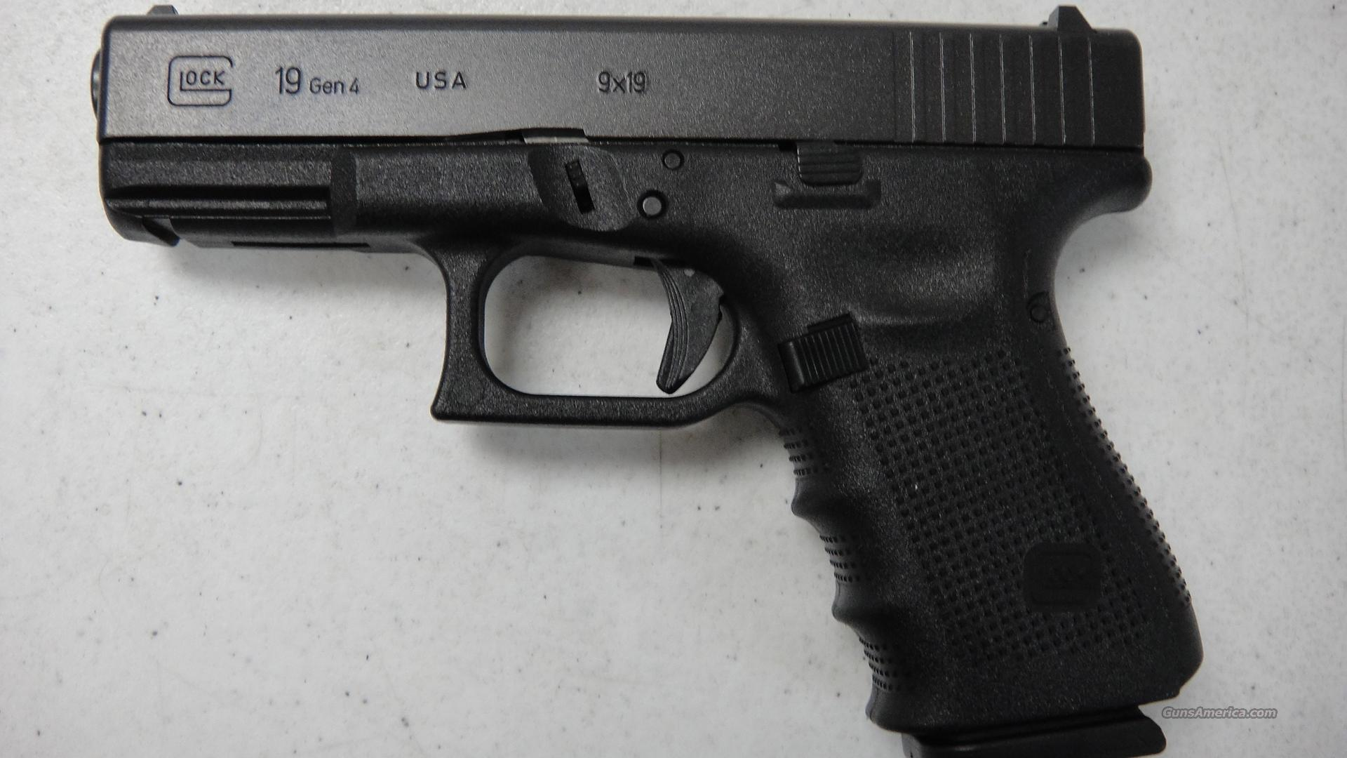 Glock 19 Gen 4 USA Made  Guns > Pistols > Glock Pistols > 19