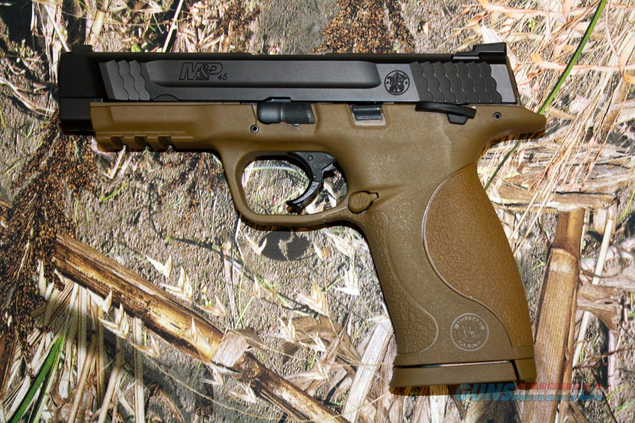 S&W M&P 45 FDE  Guns > Pistols > Smith & Wesson Pistols - Autos > Polymer Frame