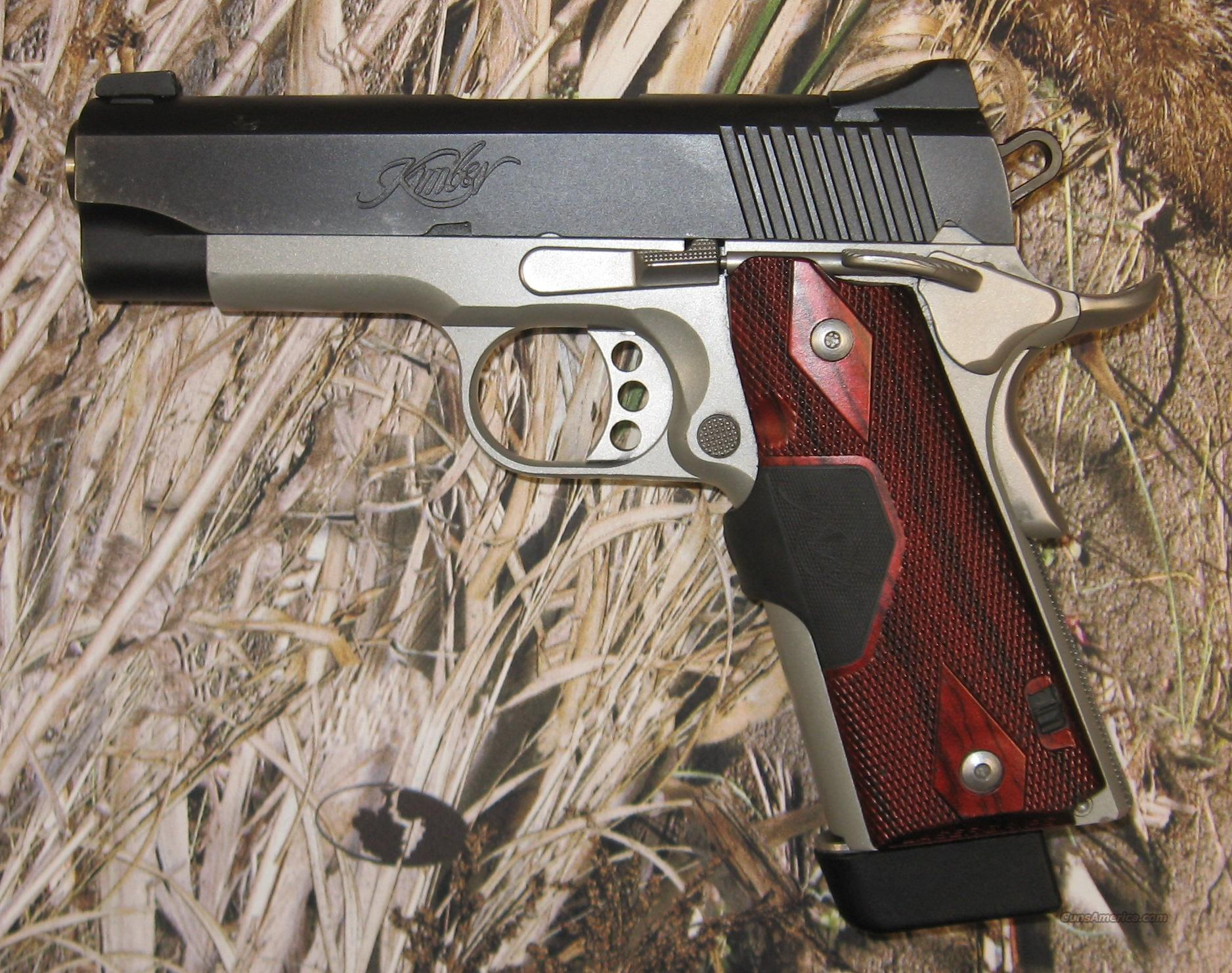 Kimber Pro Crimson Carry II  Used  Guns > Pistols > Kimber of America Pistols