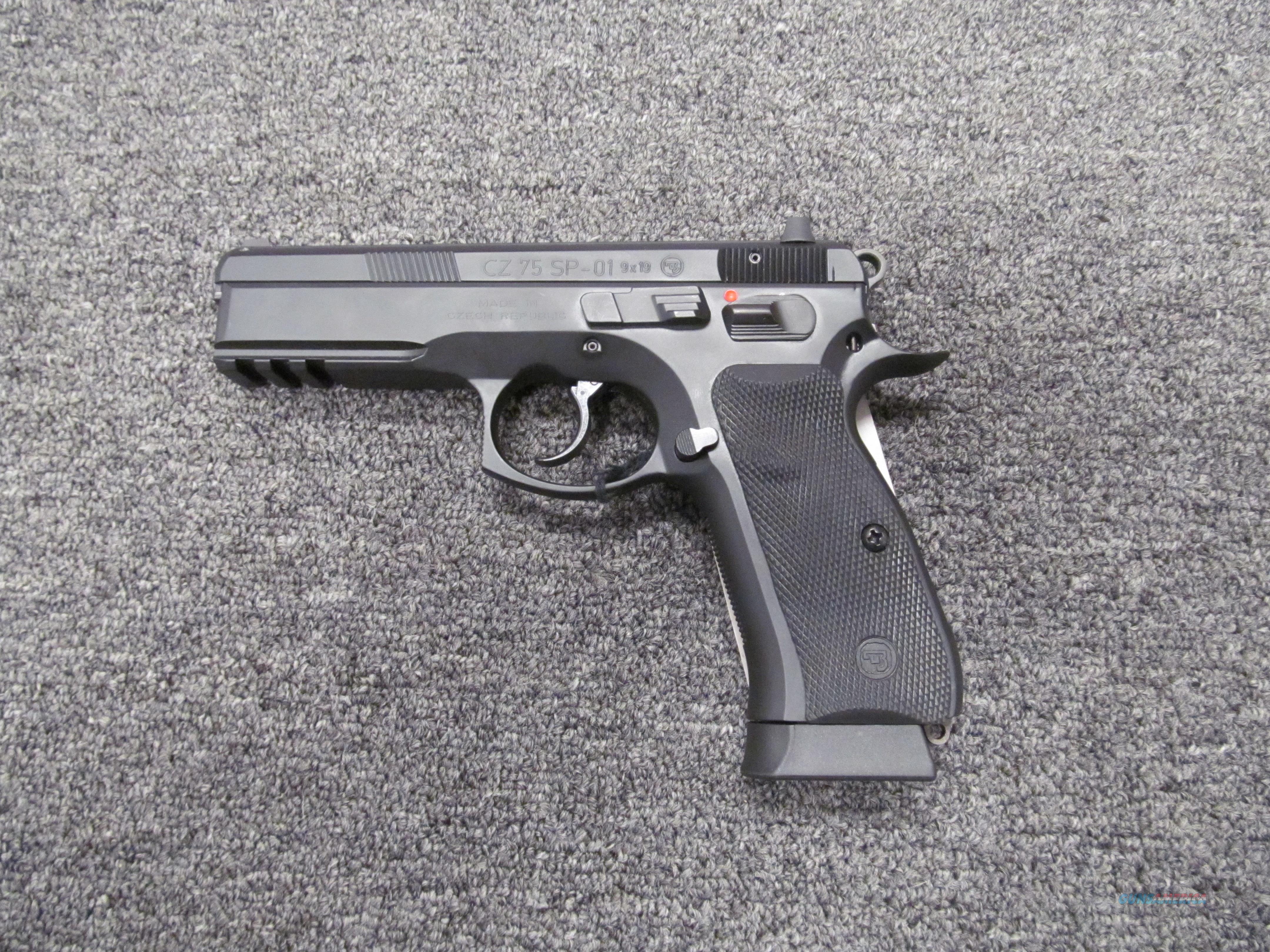 CZ 75 SP-01  Guns > Pistols > CZ Pistols