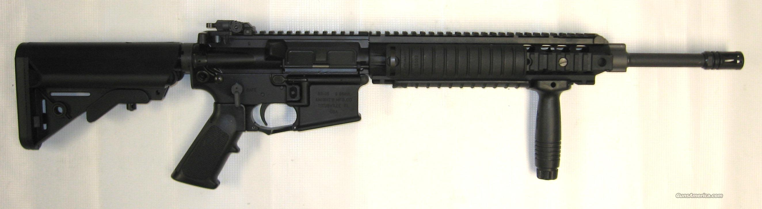 Knights Manufacturing Co. SR-15  Guns > Rifles > Knight's Manufacturing Rifles
