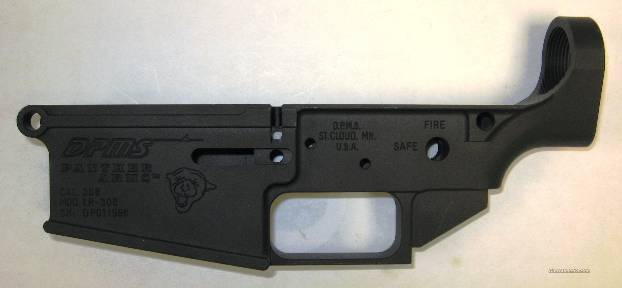 DPMS LR308 Stripped Lower Receiver  Guns > Rifles > DPMS - Panther Arms > Lower Only