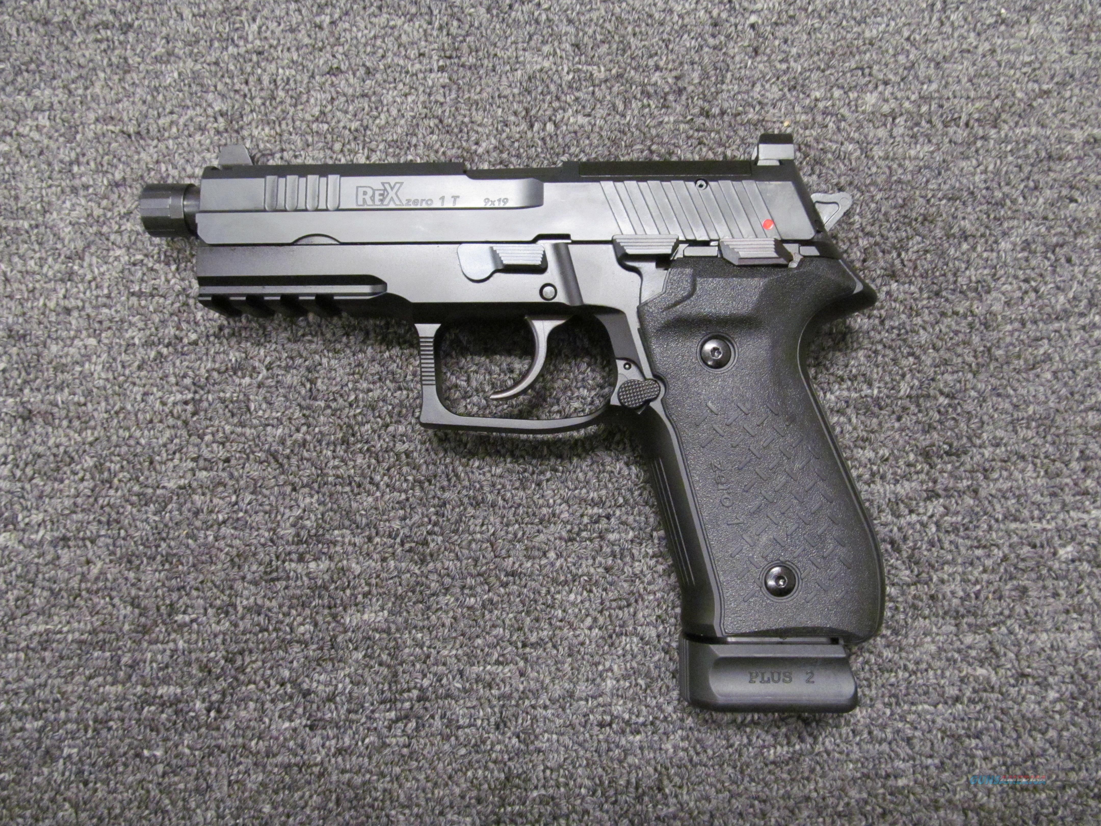 Arex/Fime Group Rex Zero 1T 9mm  Guns > Pistols > FIME Group Pistols > Rex Zero 1