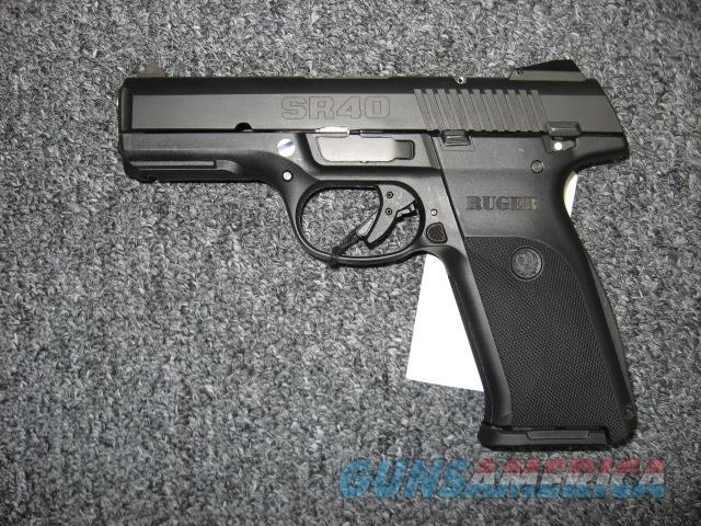 Ruger SR40 .40S&W   Guns > Pistols > Ruger Semi-Auto Pistols > SR Family > SR40