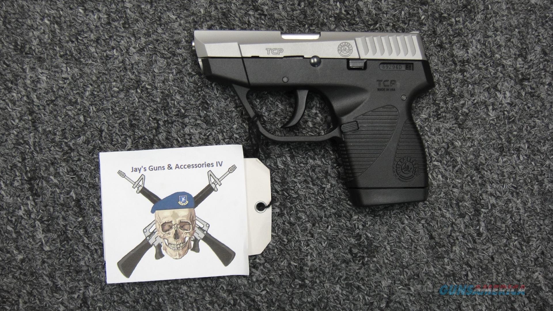 Taurus PT738 TCP Two Tone .380ACP  Guns > Pistols > Taurus Pistols > Semi Auto Pistols > Polymer Frame