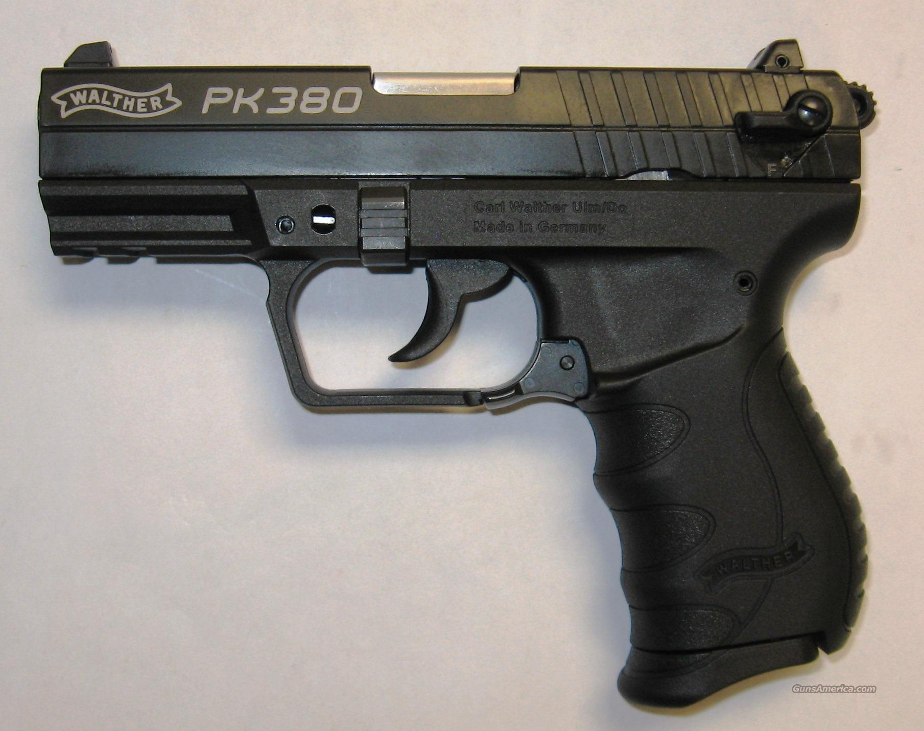 Walther PK380 Black  Guns > Pistols > Walther Pistols > Post WWII > PK380