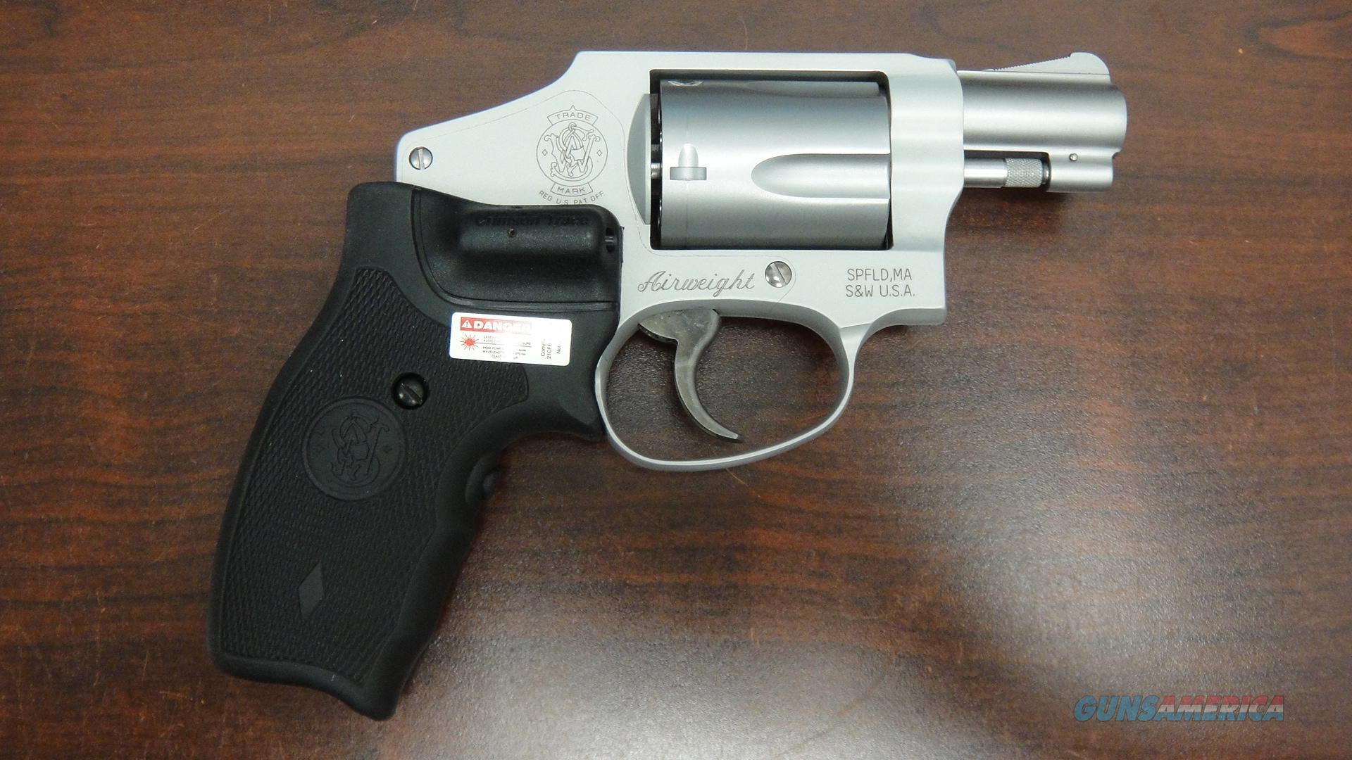 Smith and Wesson Model 642-2 With Crimson Trace Grip  Guns > Pistols > Smith & Wesson Revolvers > Pocket Pistols