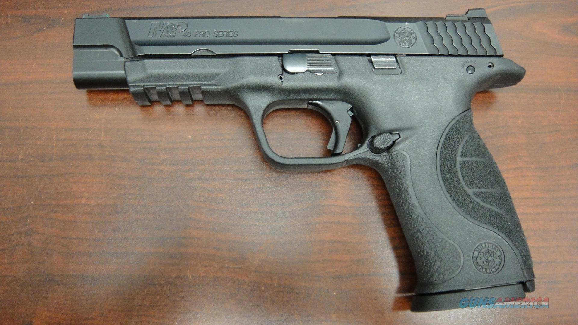 Smith and Wesson M&P40 Pro Series with Apex Trigger  Guns > Pistols > Smith & Wesson Pistols - Autos > Polymer Frame