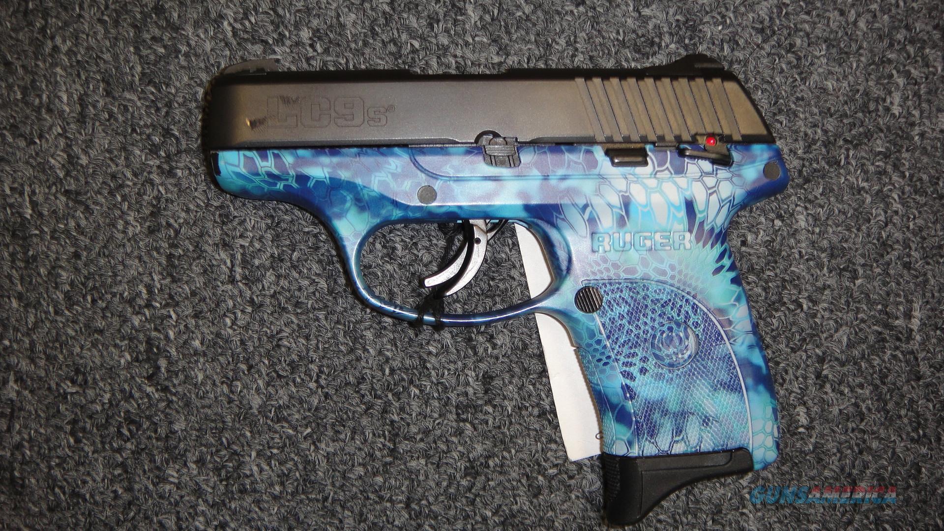Ruger LC9S Kryptek Blue  Guns > Pistols > Ruger Semi-Auto Pistols > LC9
