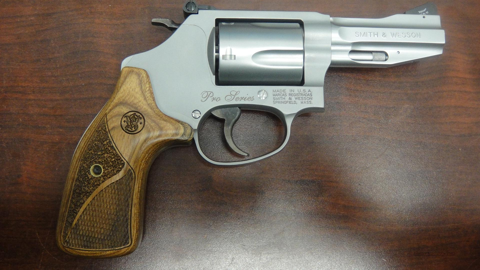 Smith And Wesson Model 60 15 Pro Series For Sale