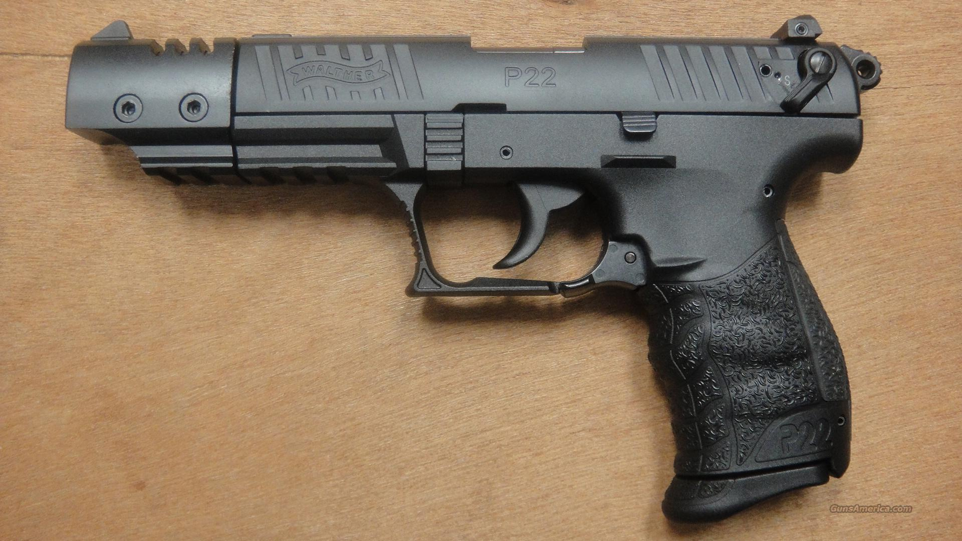 "Walther P22 With 5"" Barrel  Guns > Pistols > Walther Pistols > Post WWII > P22"