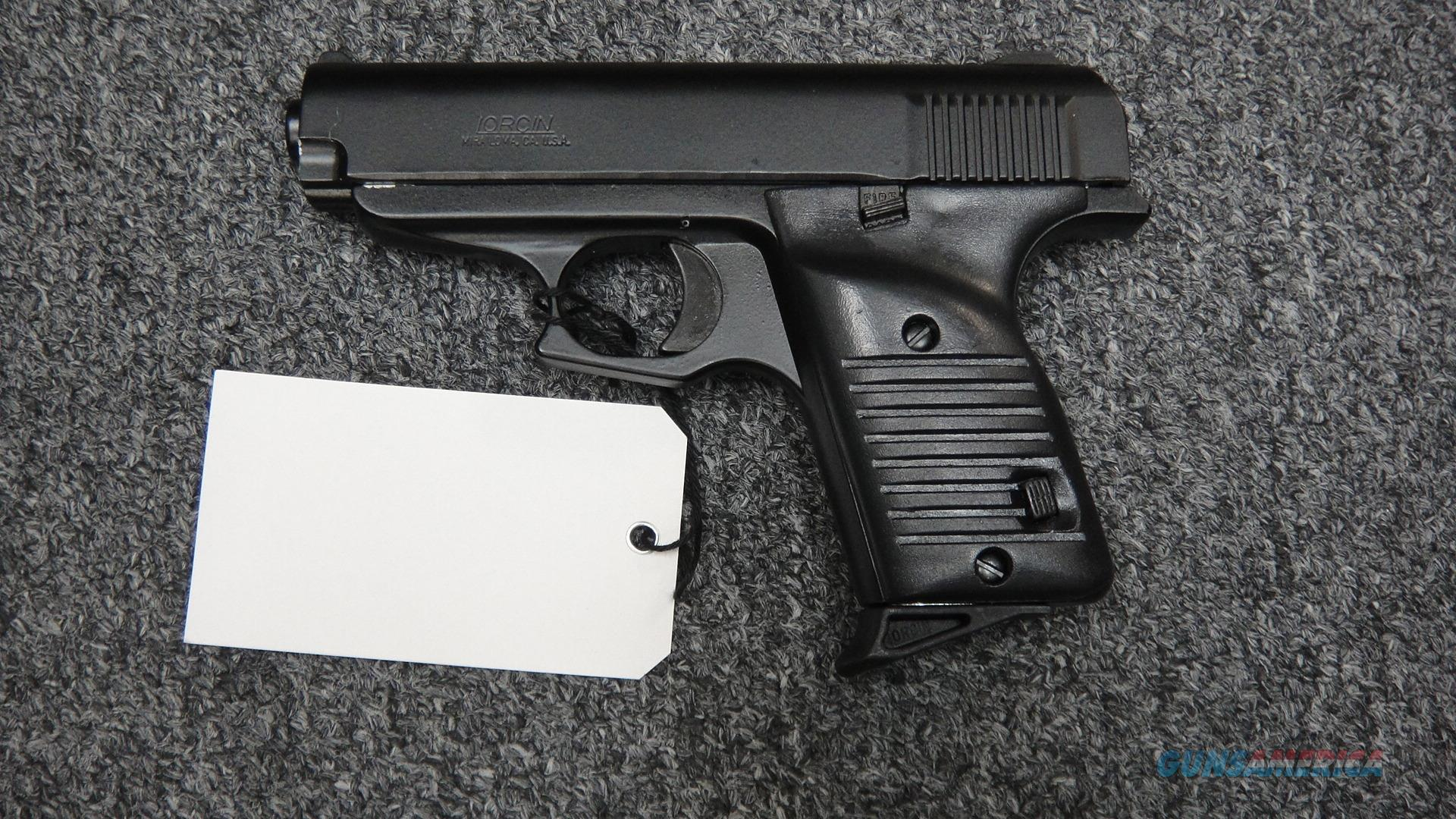 Lorcin L380 .380ACP--used  Guns > Pistols > Lorcin Pistols