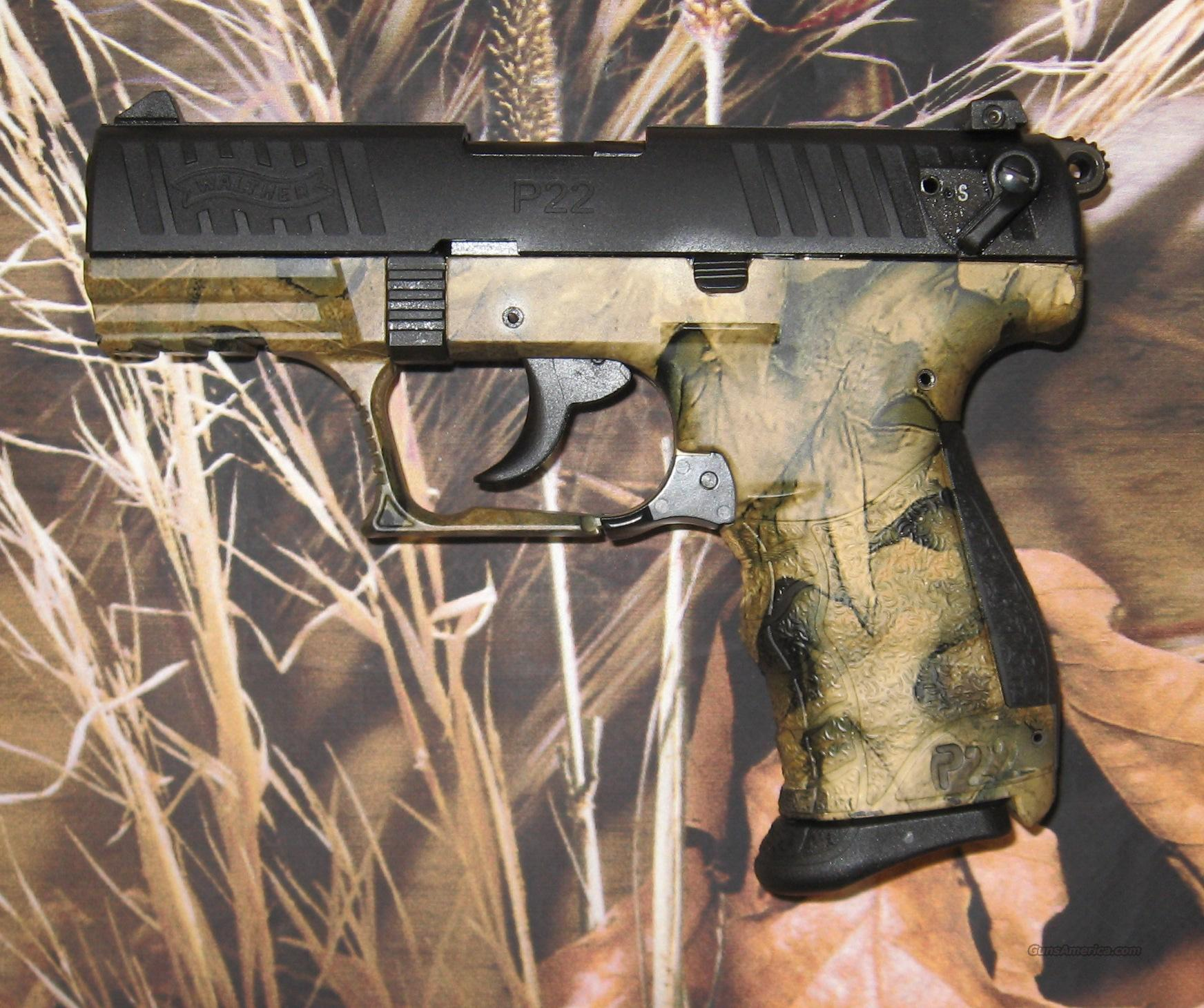Walther P22 Black & Camo  Guns > Pistols > Walther Pistols > Post WWII > P22