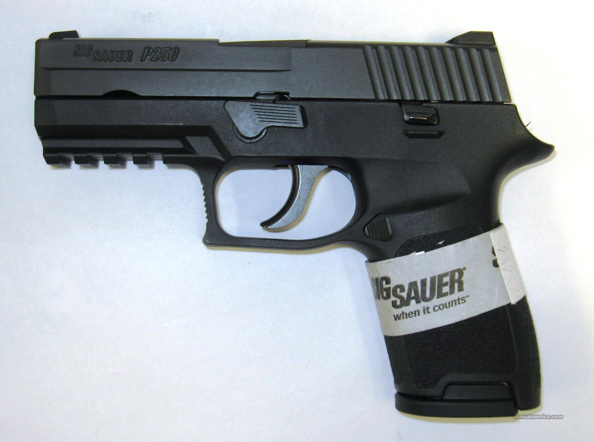 Sig Sauer P250 Compact .40S&W  Guns > Pistols > Sig - Sauer/Sigarms Pistols > P250