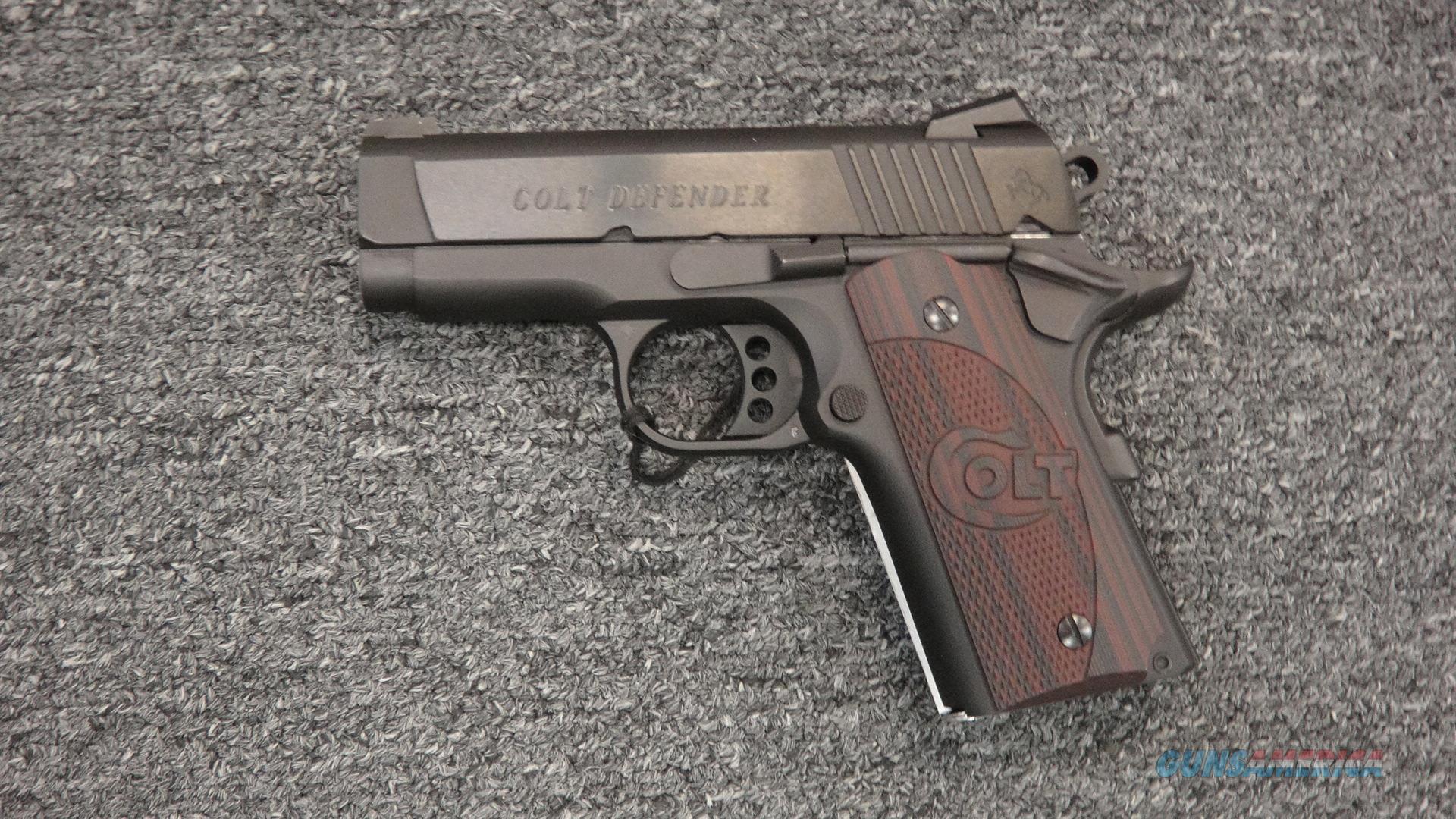 Colt Defender Lightweight 1911 .45ACP  Guns > Pistols > Colt Automatic Pistols (1911 & Var)
