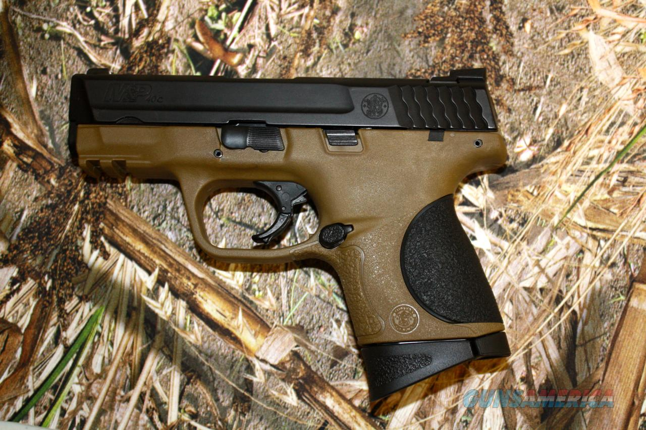 S&W M&P 40c FDE   Guns > Pistols > Smith & Wesson Pistols - Autos > Polymer Frame
