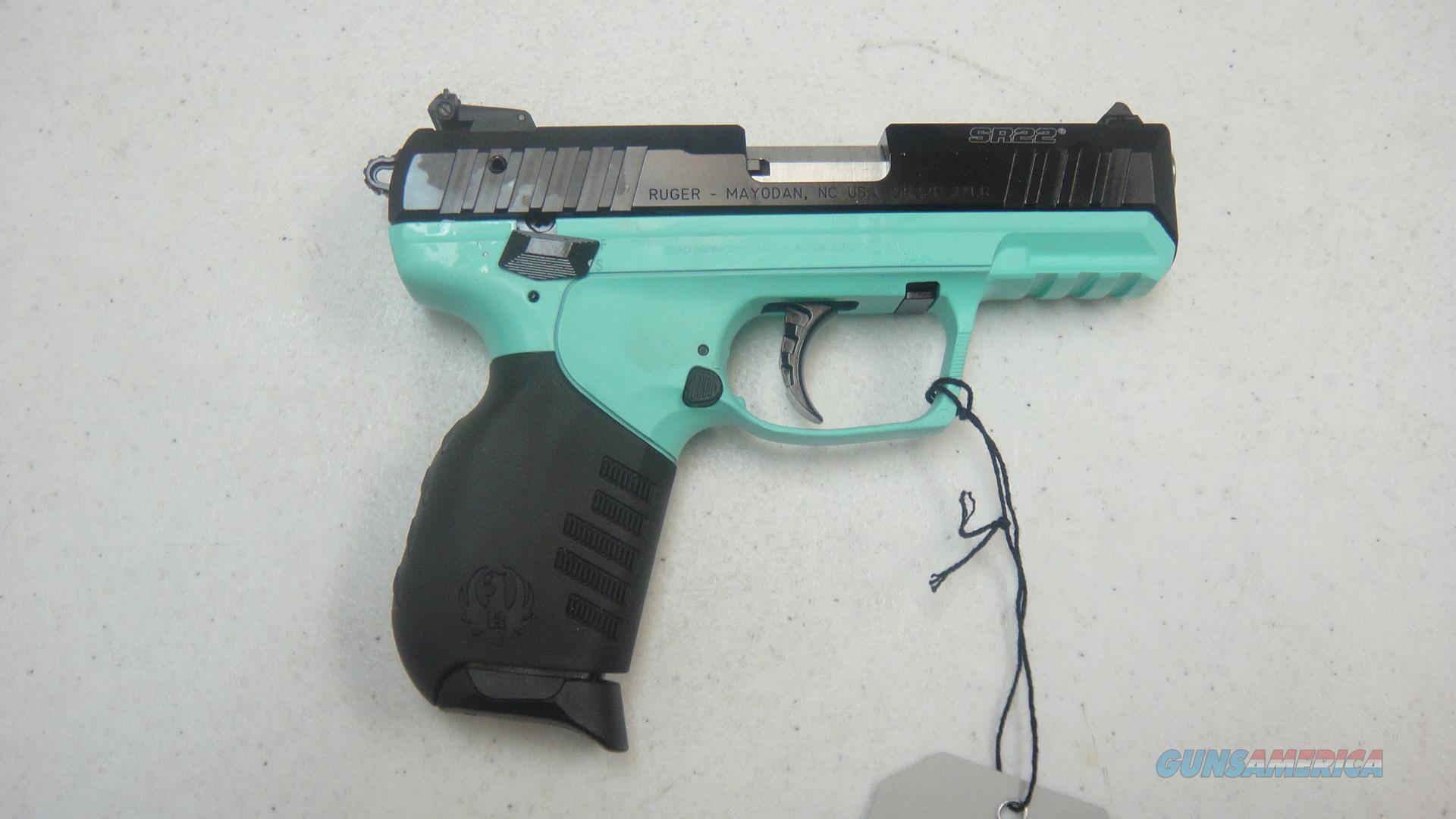 Ruger SR22 w/ Turquoise frame  Guns > Pistols > Ruger Semi-Auto Pistols > SR Family > SR22