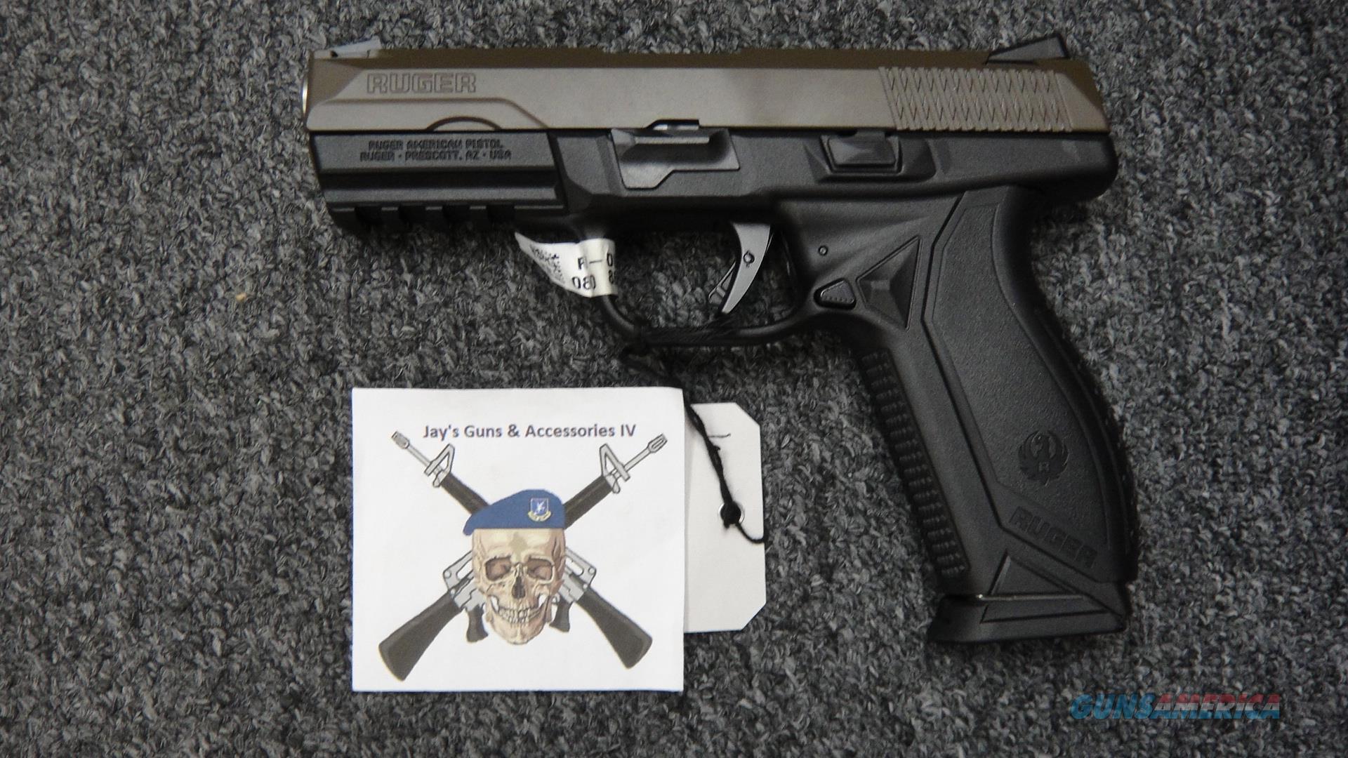 Ruger American pistol 9mm TALO Pro Duty Guns > Pistols > Ruger Semi-Auto Pistols > American Pistol