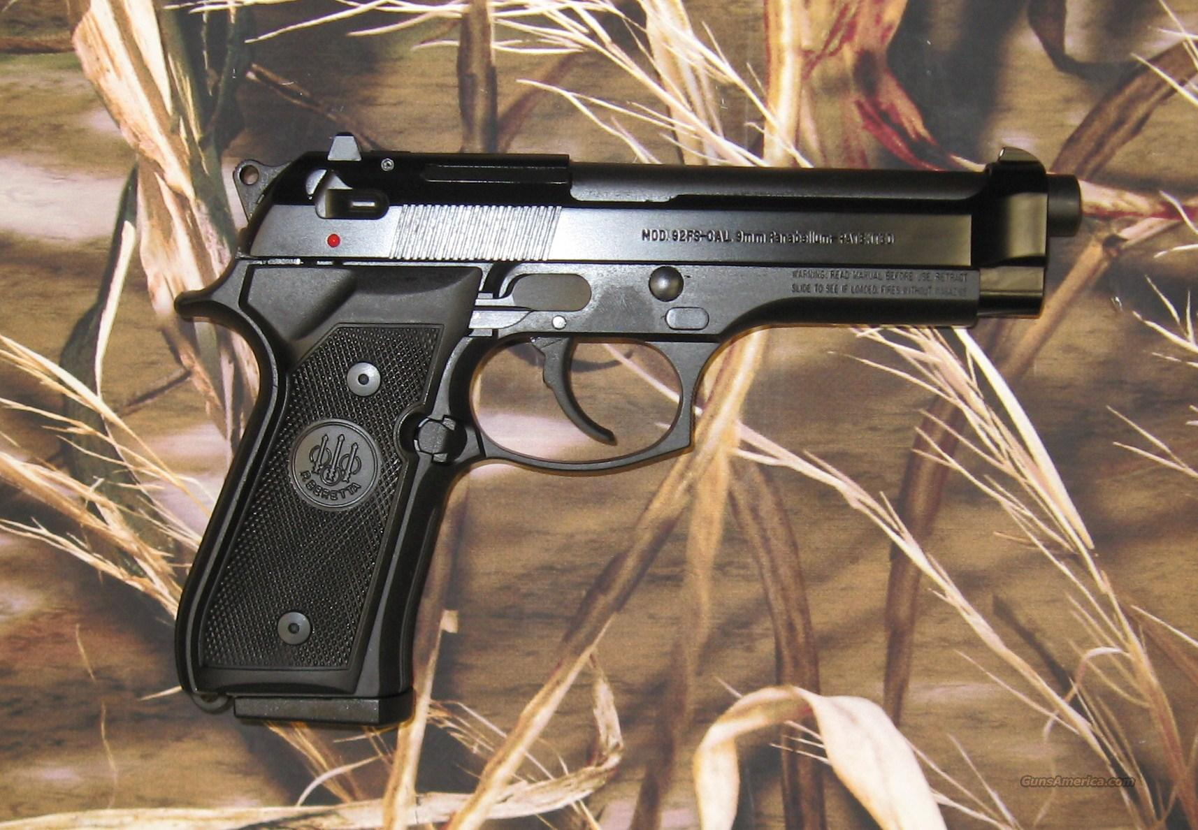 Beretta 92FS Black  Guns > Pistols > Beretta Pistols > Model 92 Series
